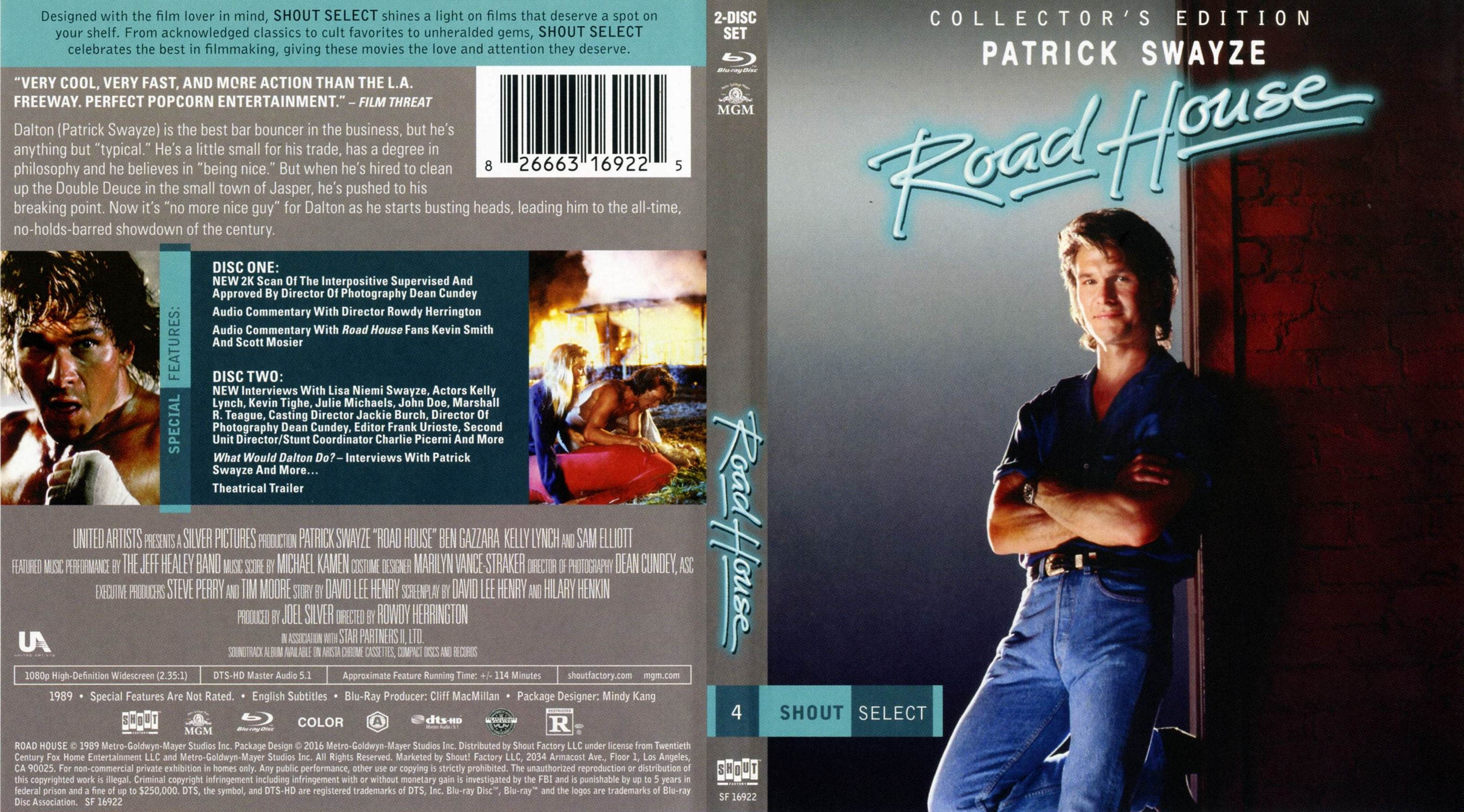 Roadhouse movie script