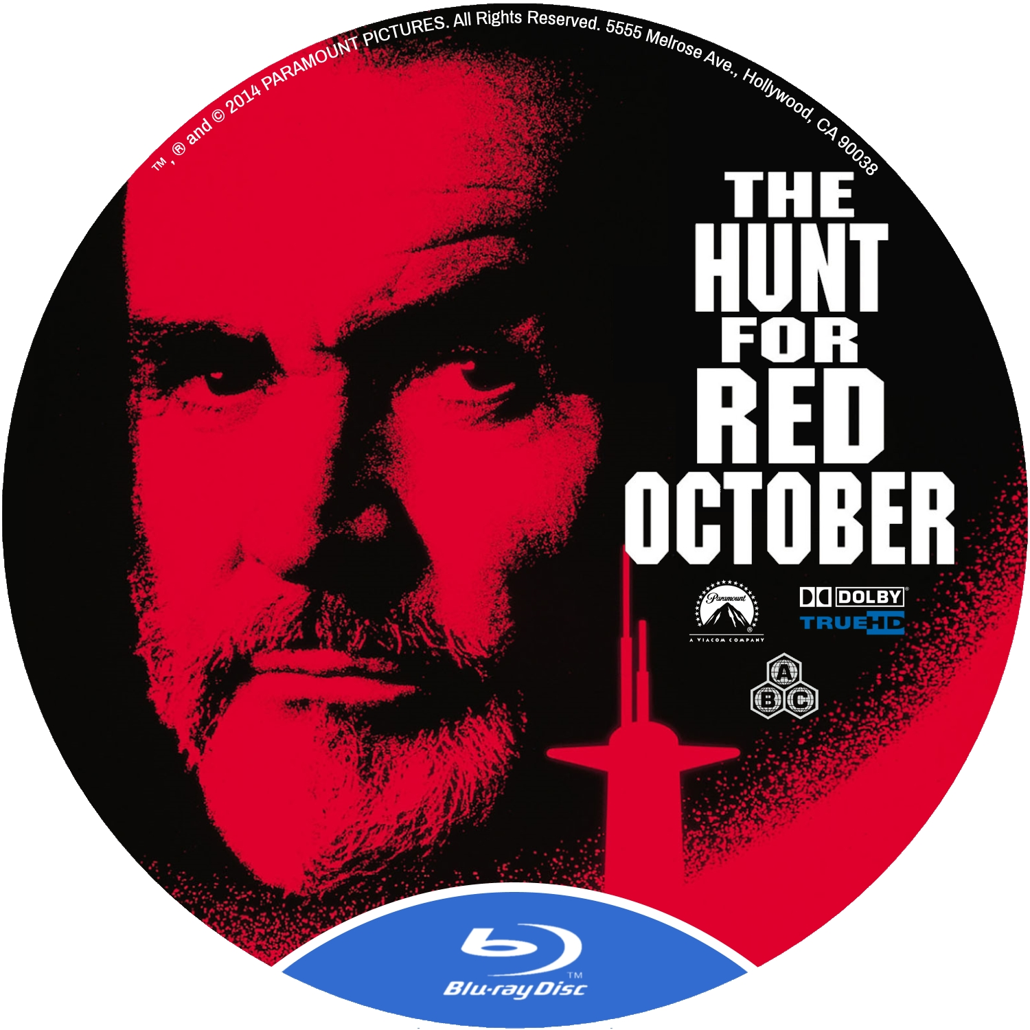 Covers Box Sk The Hunt For Red October 1990 High Quality Dvd Blueray Movie