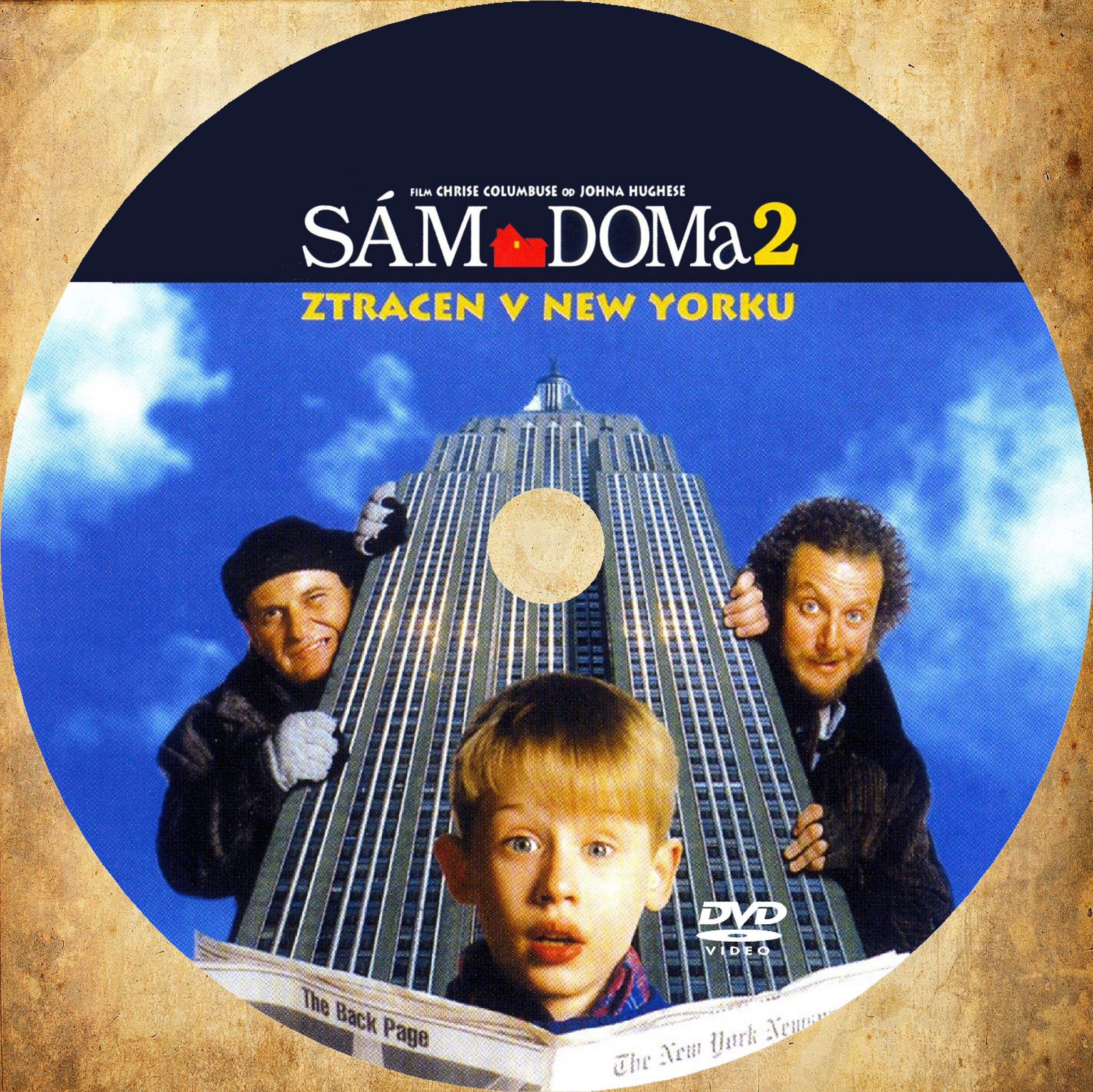 Covers Box Sk Home Alone 2 Lost In New York 1992 High Quality Dvd Blueray Movie