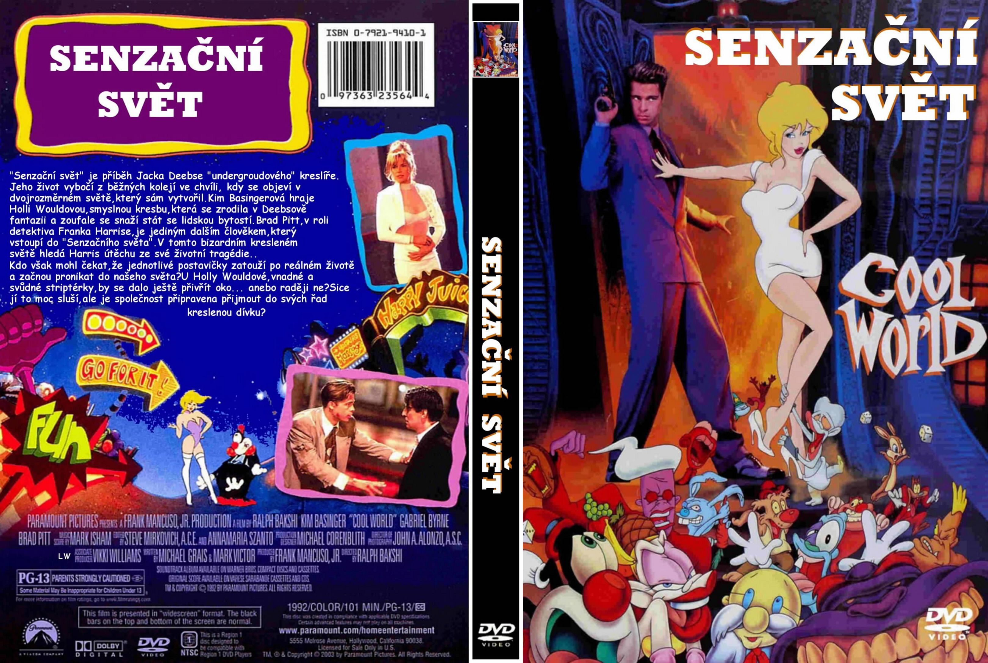 Covers Box Sk Cool World 1992 High Quality Dvd Blueray Movie