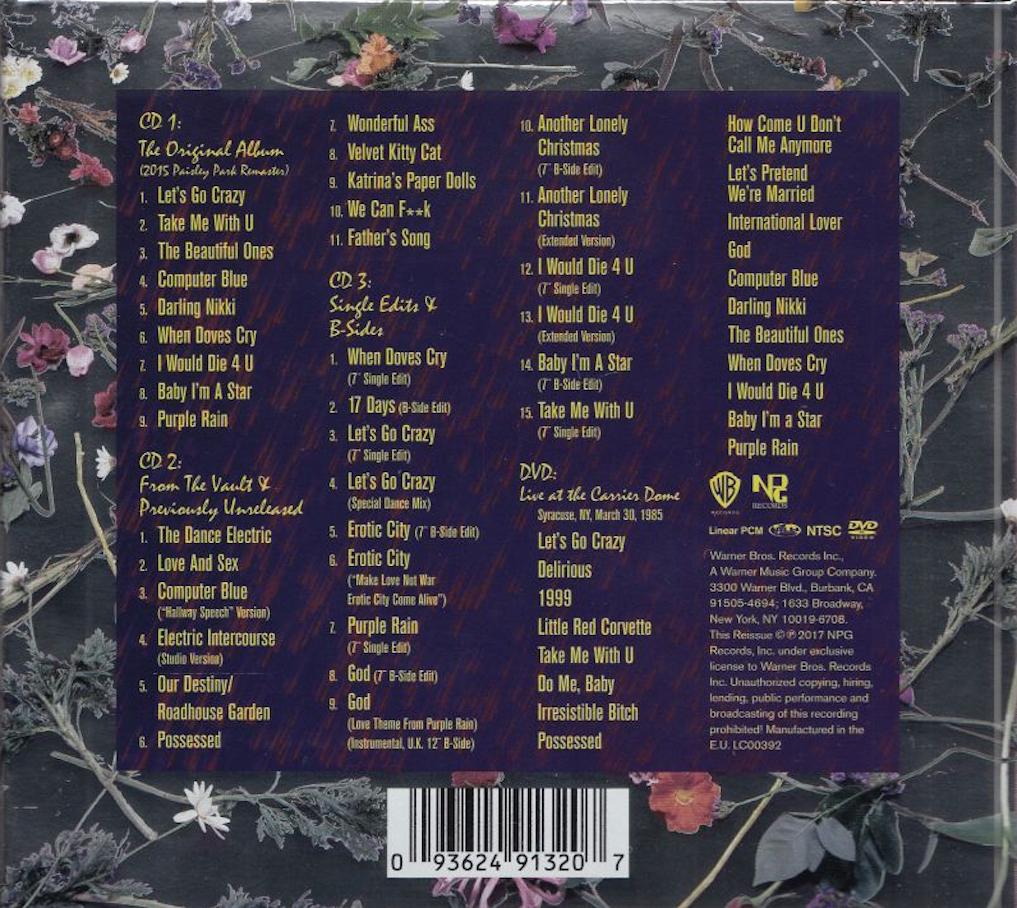 COVERS BOX SK ::: Prince And The Revolution - Purple Rain