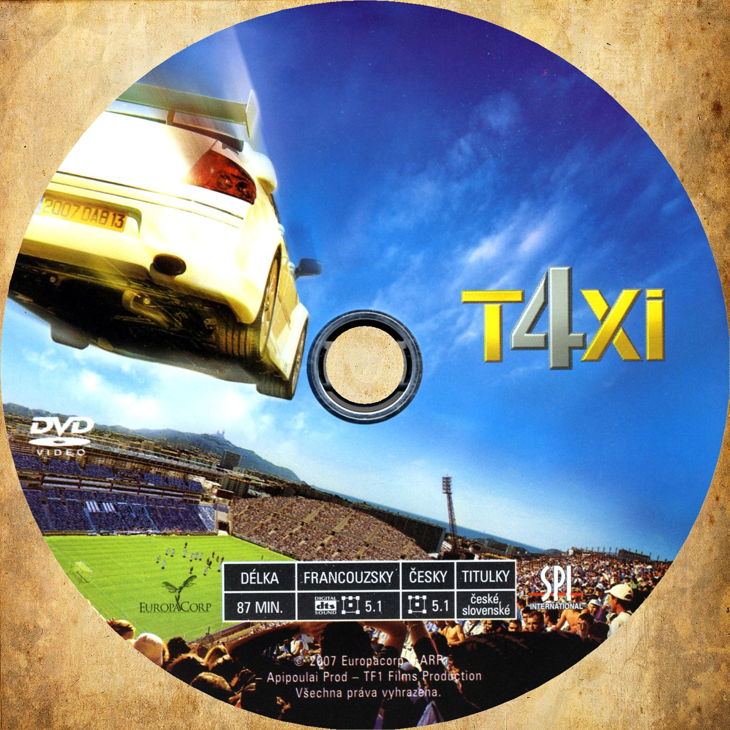 covers box sk taxi 4 2007 high quality dvd blueray movie. Black Bedroom Furniture Sets. Home Design Ideas