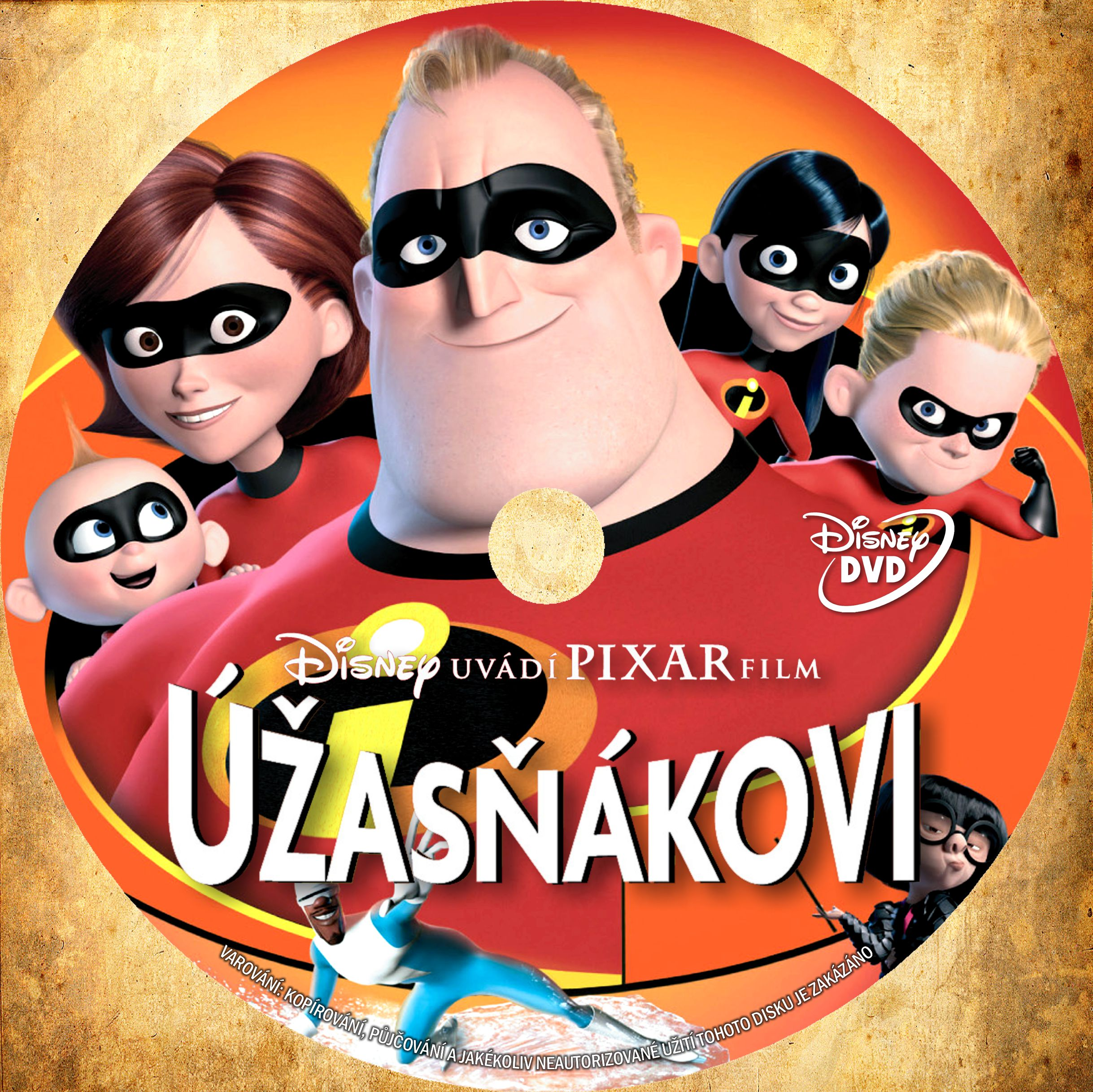 COVERS BOX SK ::: incredibles (2004) - high quality DVD / Blueray