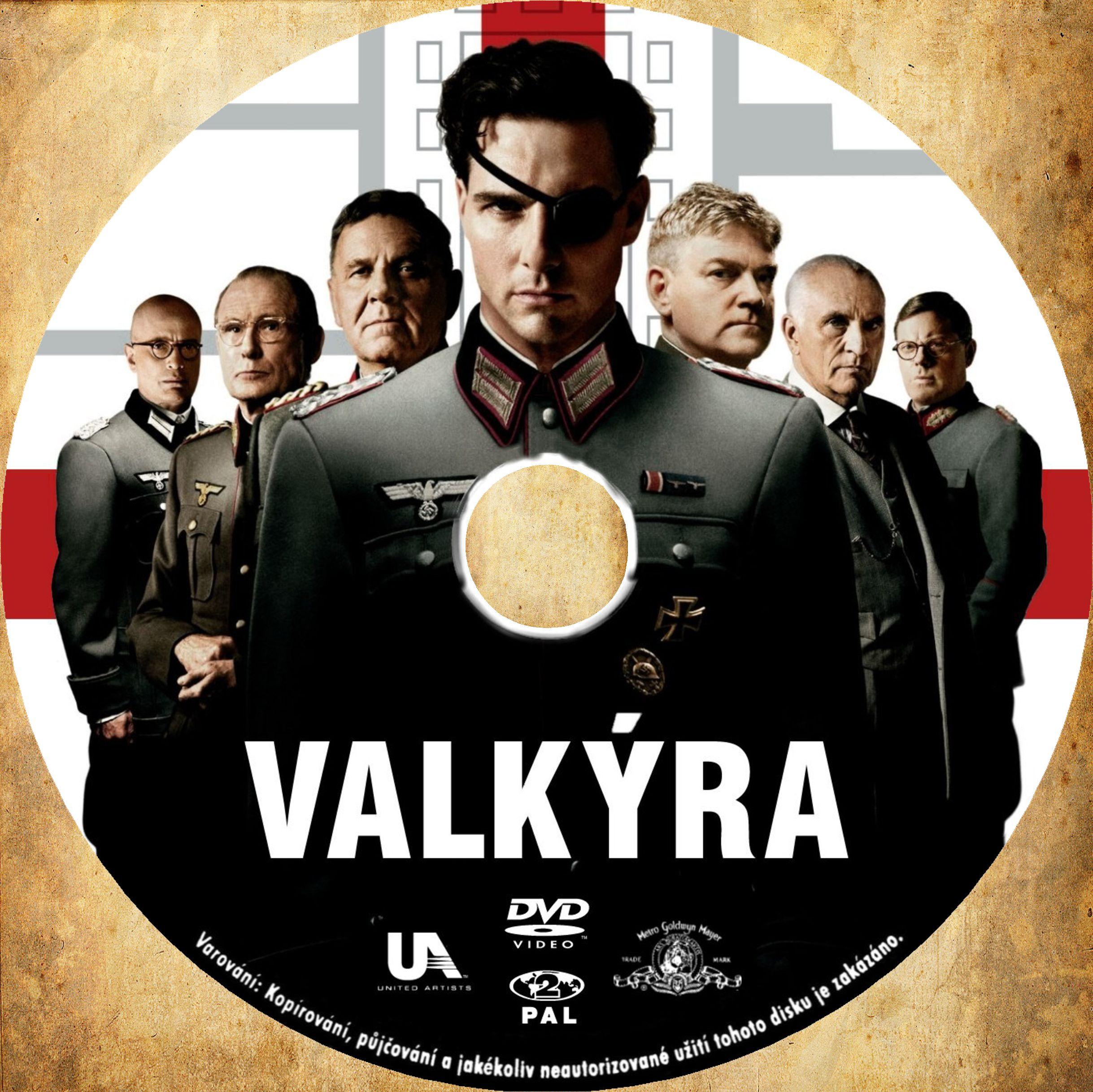 Covers Box Sk Valkyrie 2008 High Quality Dvd Blueray Movie