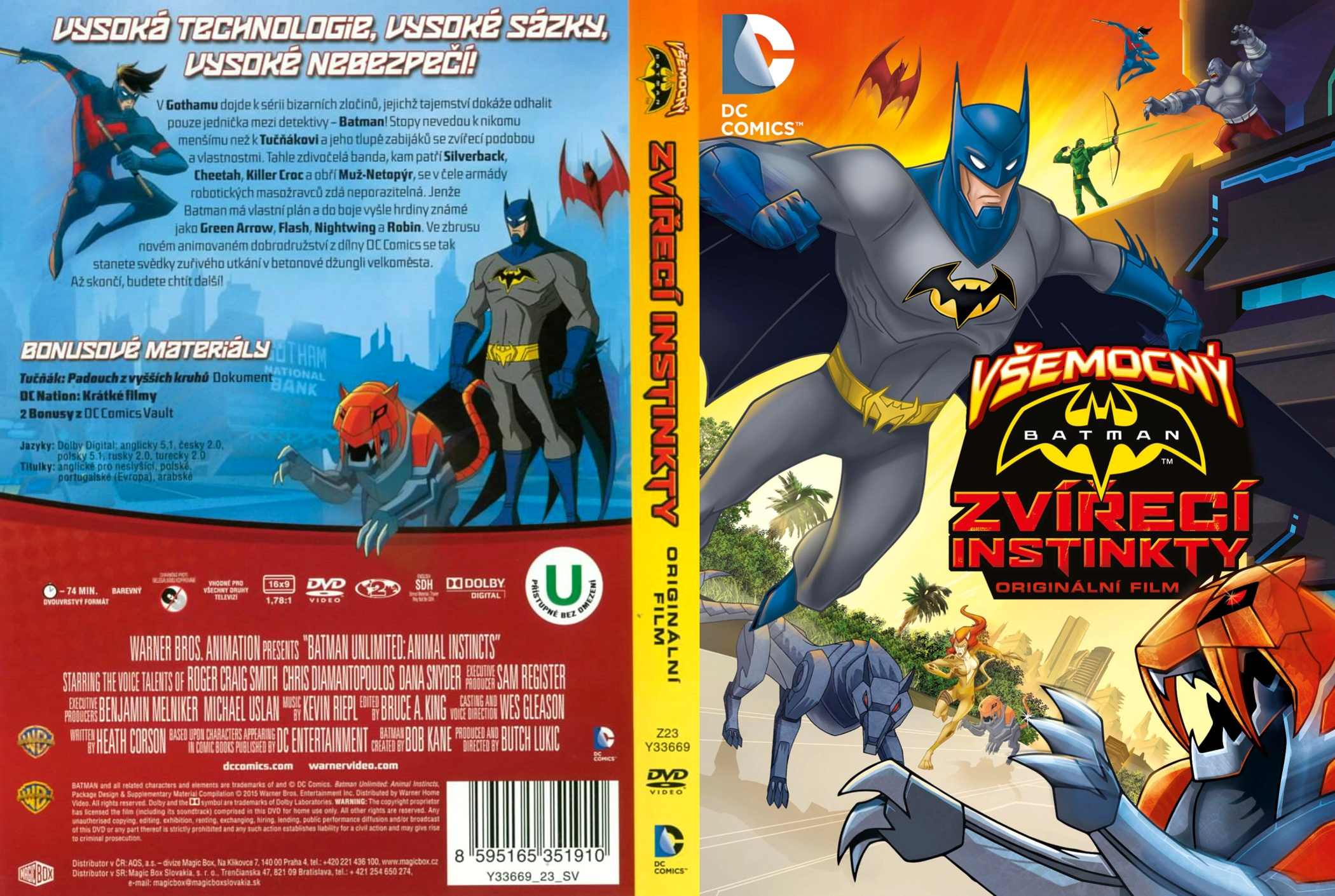 Animal Instincts 3 Full Movie covers.box.sk ::: batman unlimited: animal instincts (2015