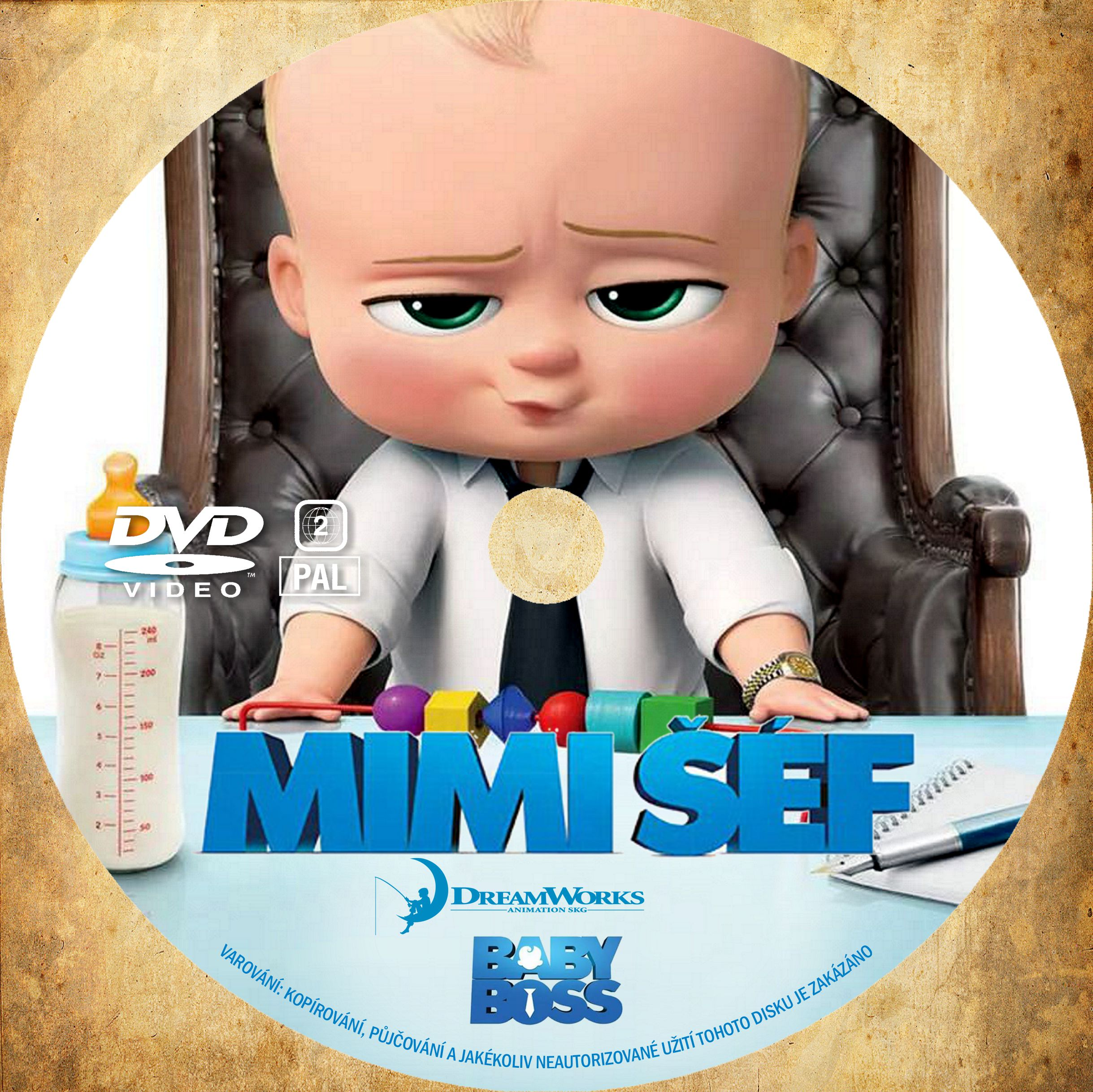 Covers Box Sk Boss Baby 2017 High Quality Dvd