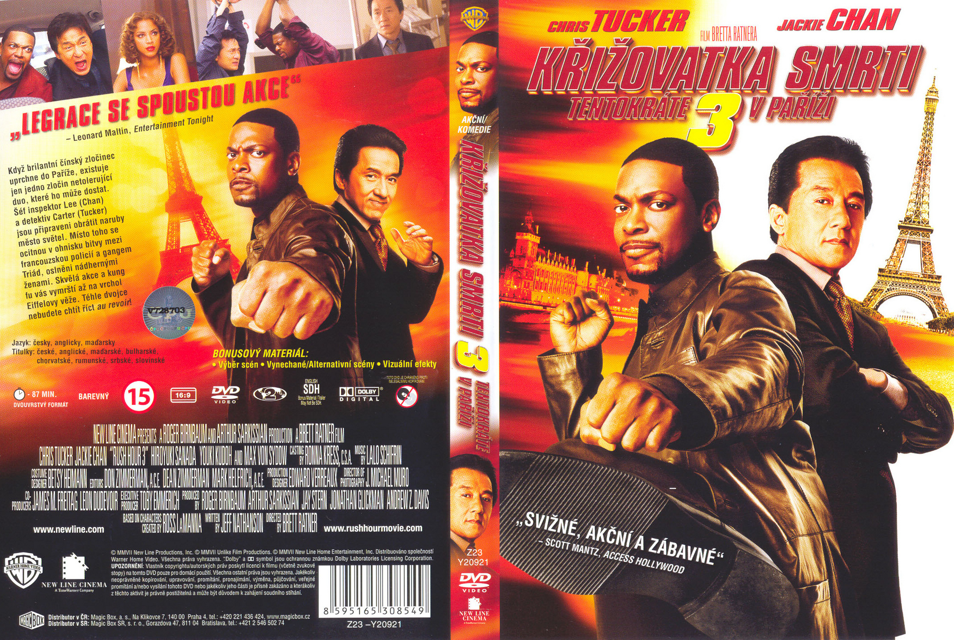 Covers Box Sk Rush Hour 3 2007 High Quality Dvd Blueray Movie