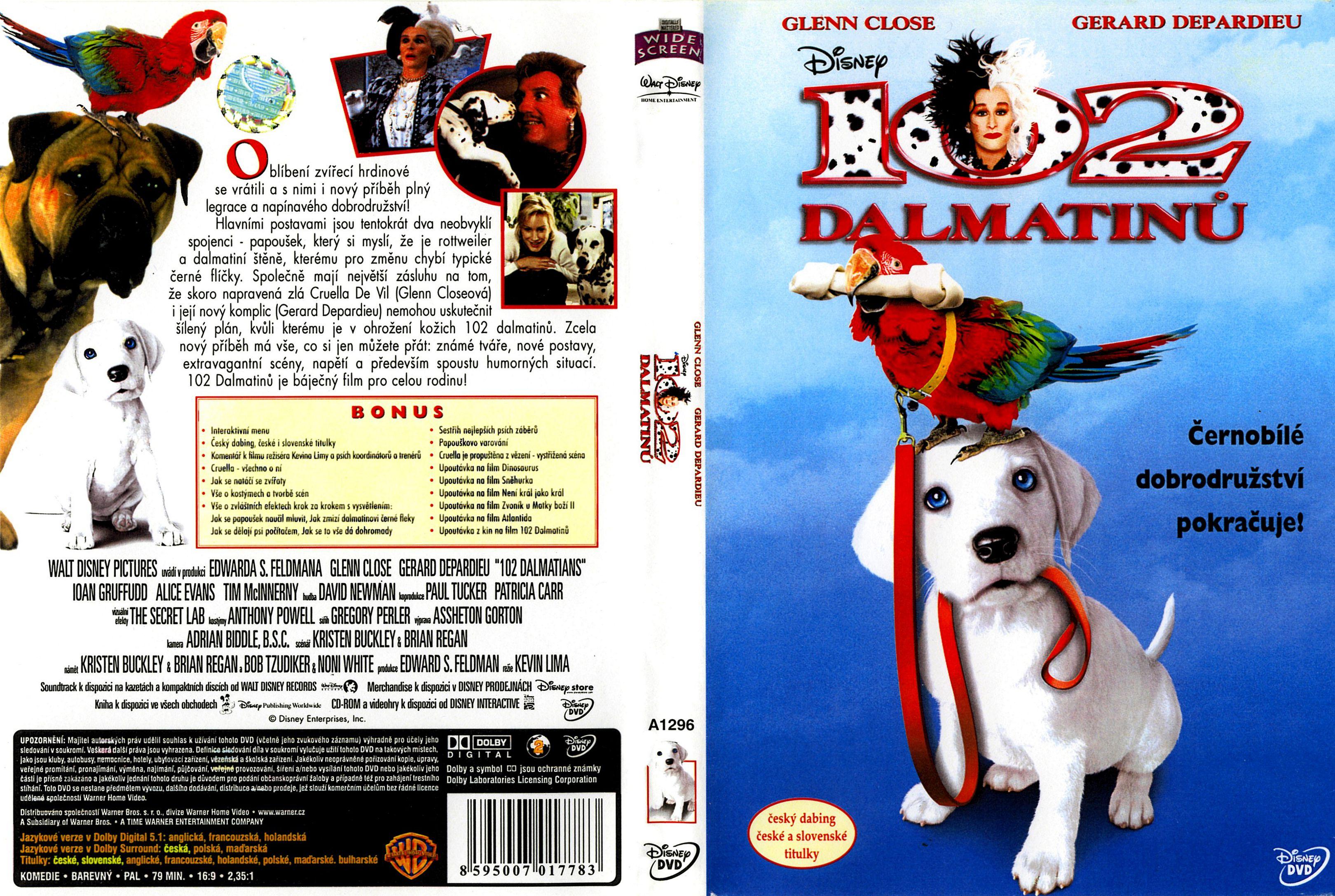 Covers Box Sk 102 Dalmatians 2000 High Quality Dvd Blueray Movie