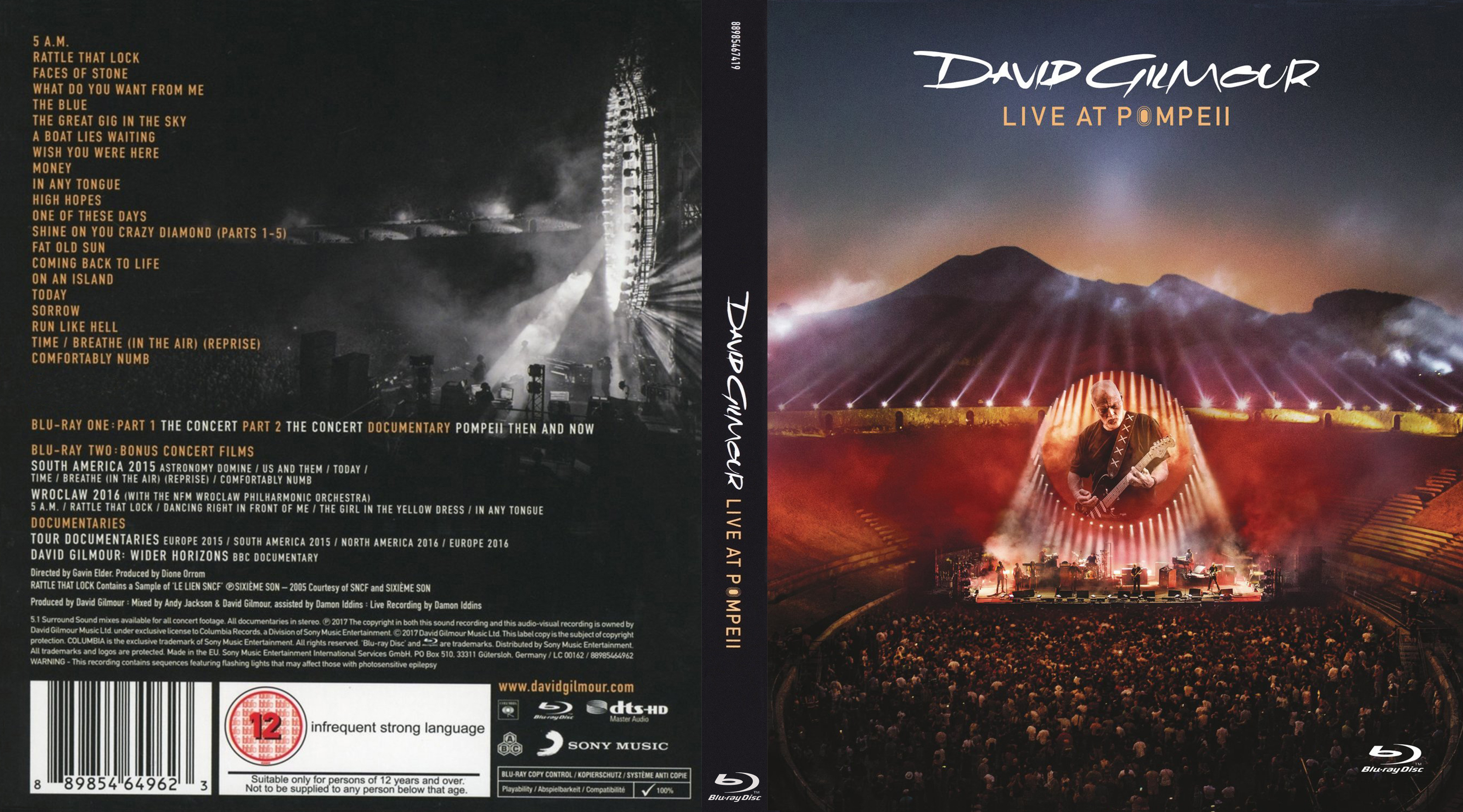 COVERS BOX SK ::: david gilmour
