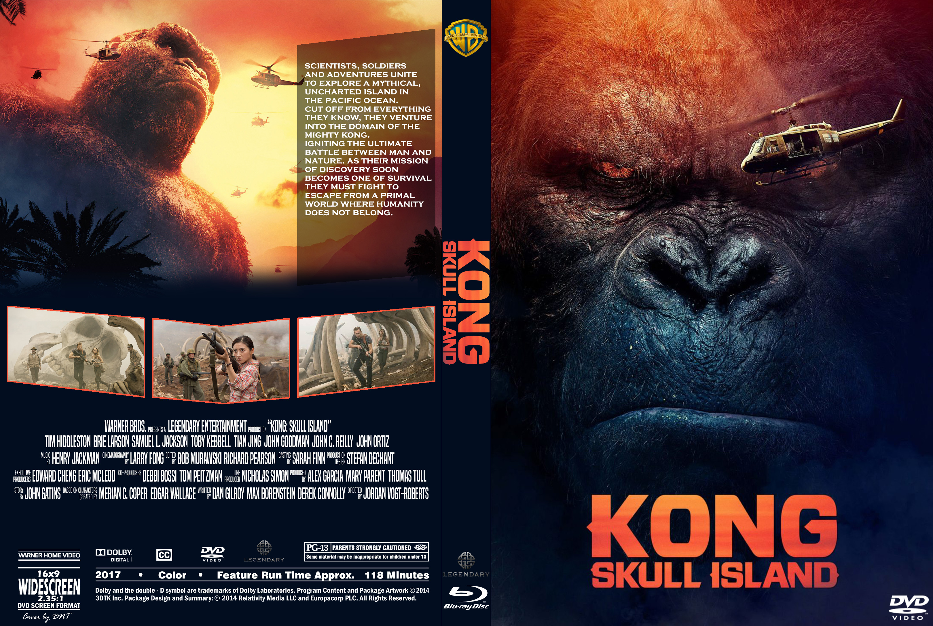 Covers Box Sk Kong Skull Island 2017 High Quality Dvd Blueray Movie