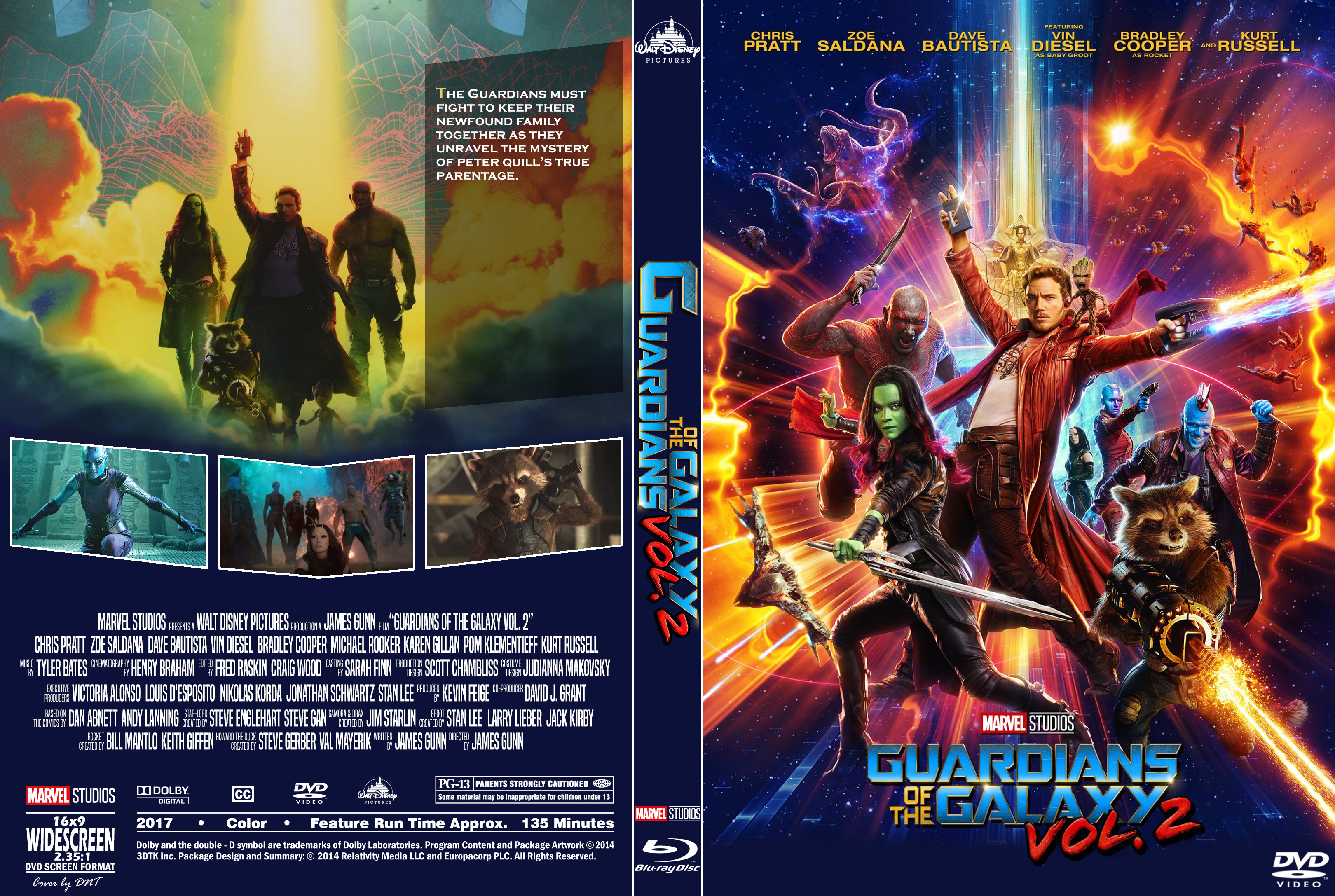 Covers Box Sk Guardians Of The Galaxy Vol 2 2017 High Quality Dvd Blueray Movie