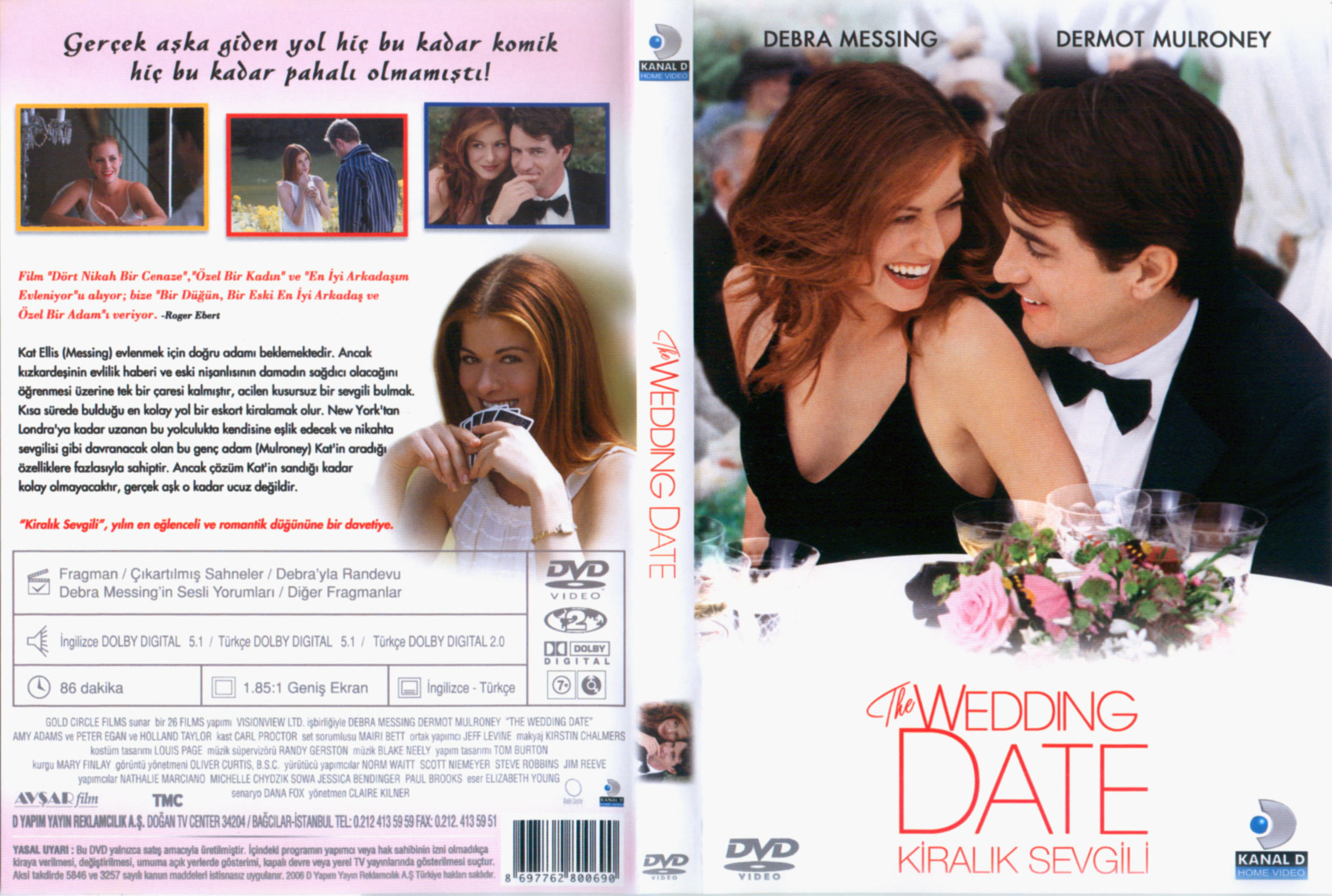 The Wedding Date.Covers Box Sk The Wedding Date 2005 High Quality Dvd