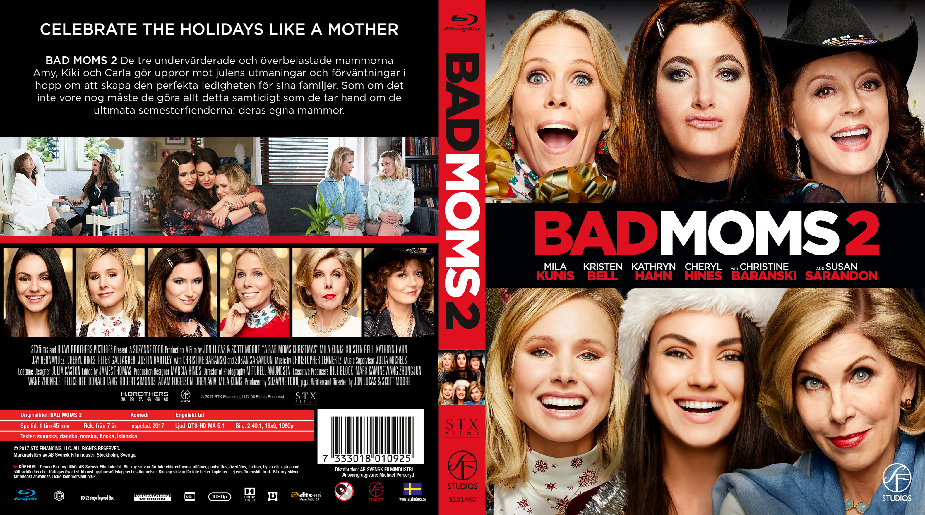 A Bad Moms Christmas Dvd Cover.Covers Box Sk A Bad Moms Christmas Bad Moms 2 Blu