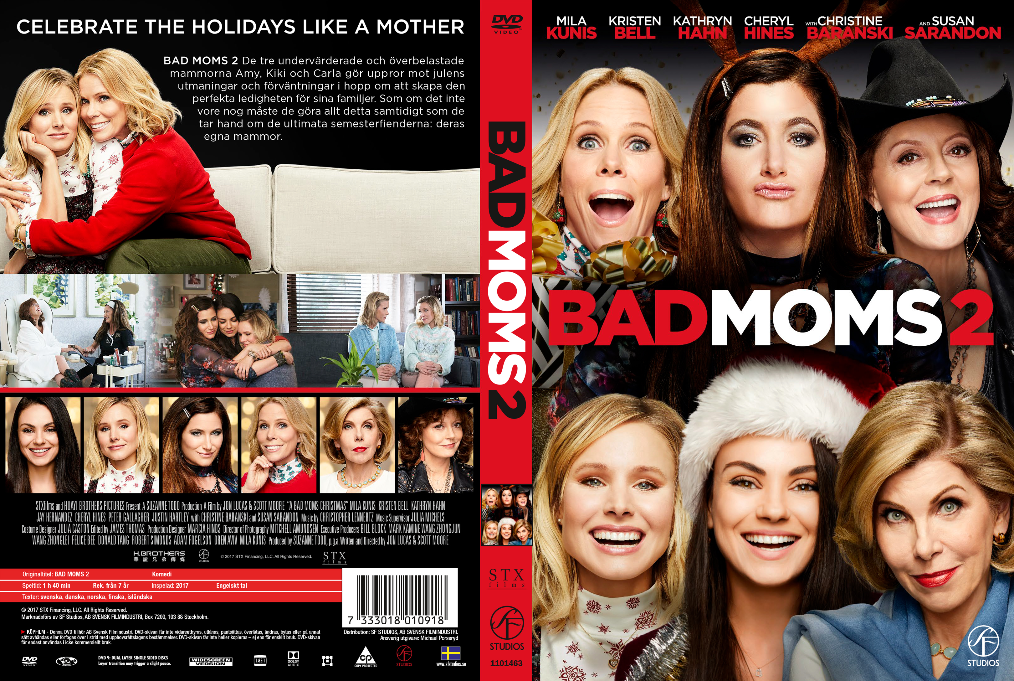 A Bad Moms Christmas Dvd Cover.Covers Box Sk A Bad Moms Christmas Bad Moms 2 2017