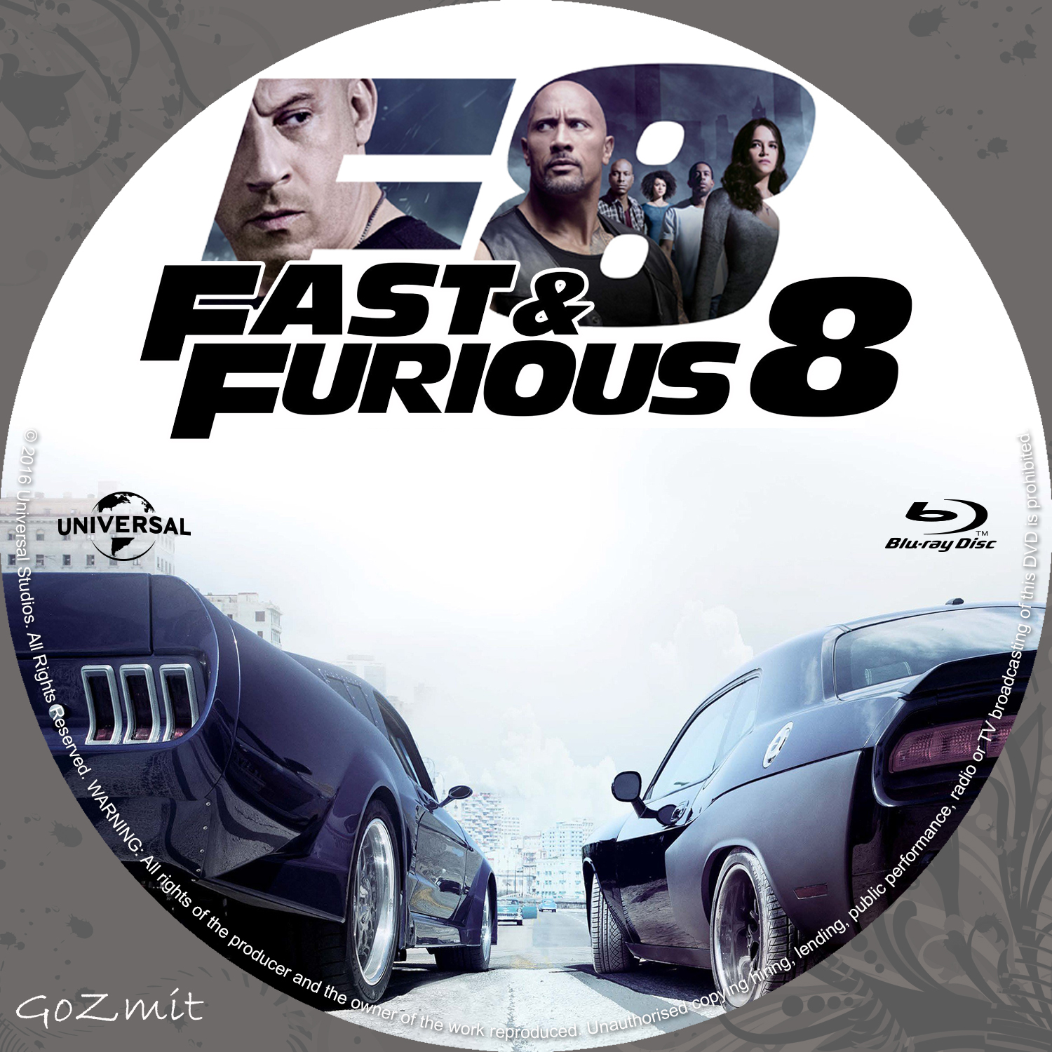 covers box sk fast furious 8 nordic blu ray 2017 high quality dvd blueray movie. Black Bedroom Furniture Sets. Home Design Ideas
