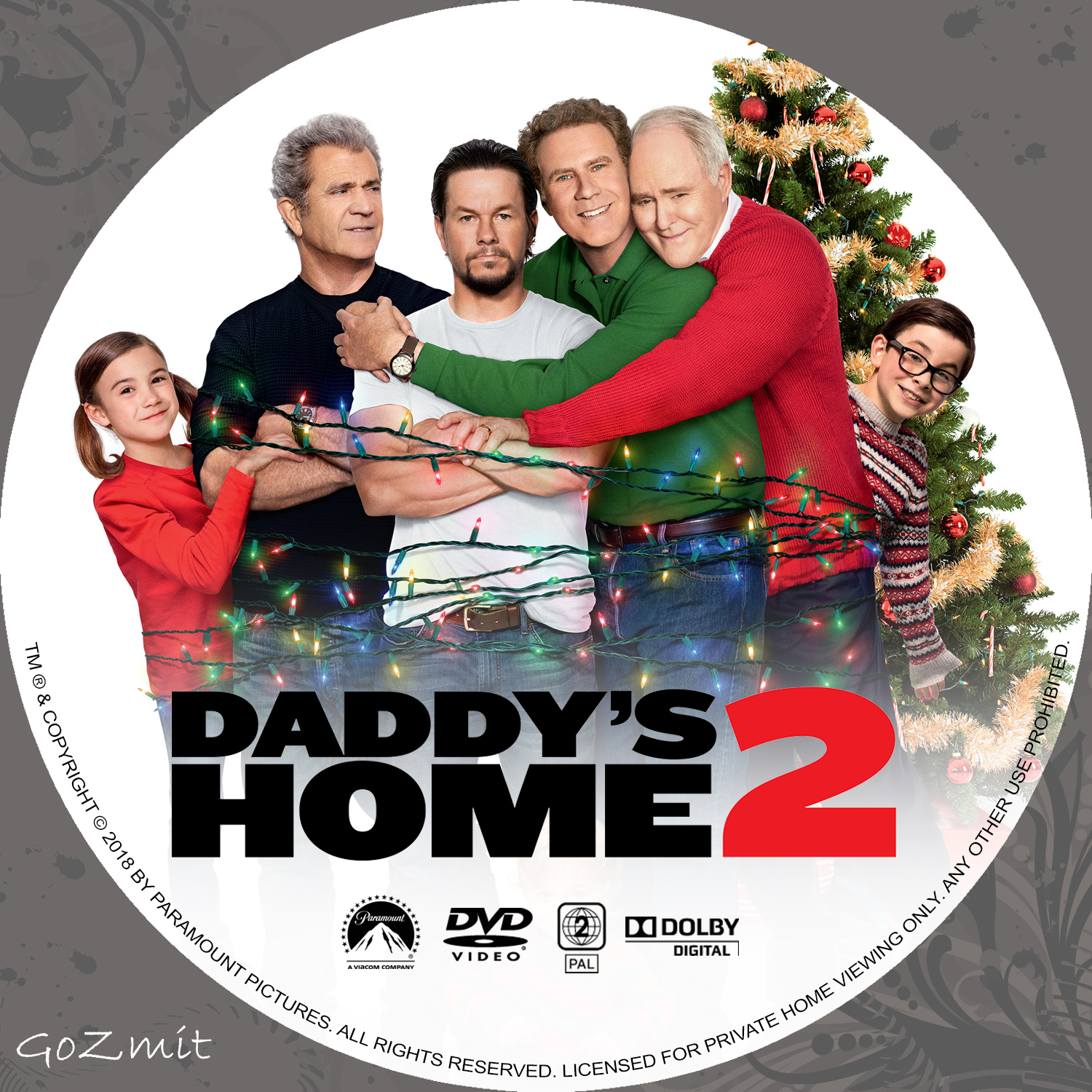 Covers Box Sk Daddy S Home 2 2017 High Quality Dvd Blueray Movie