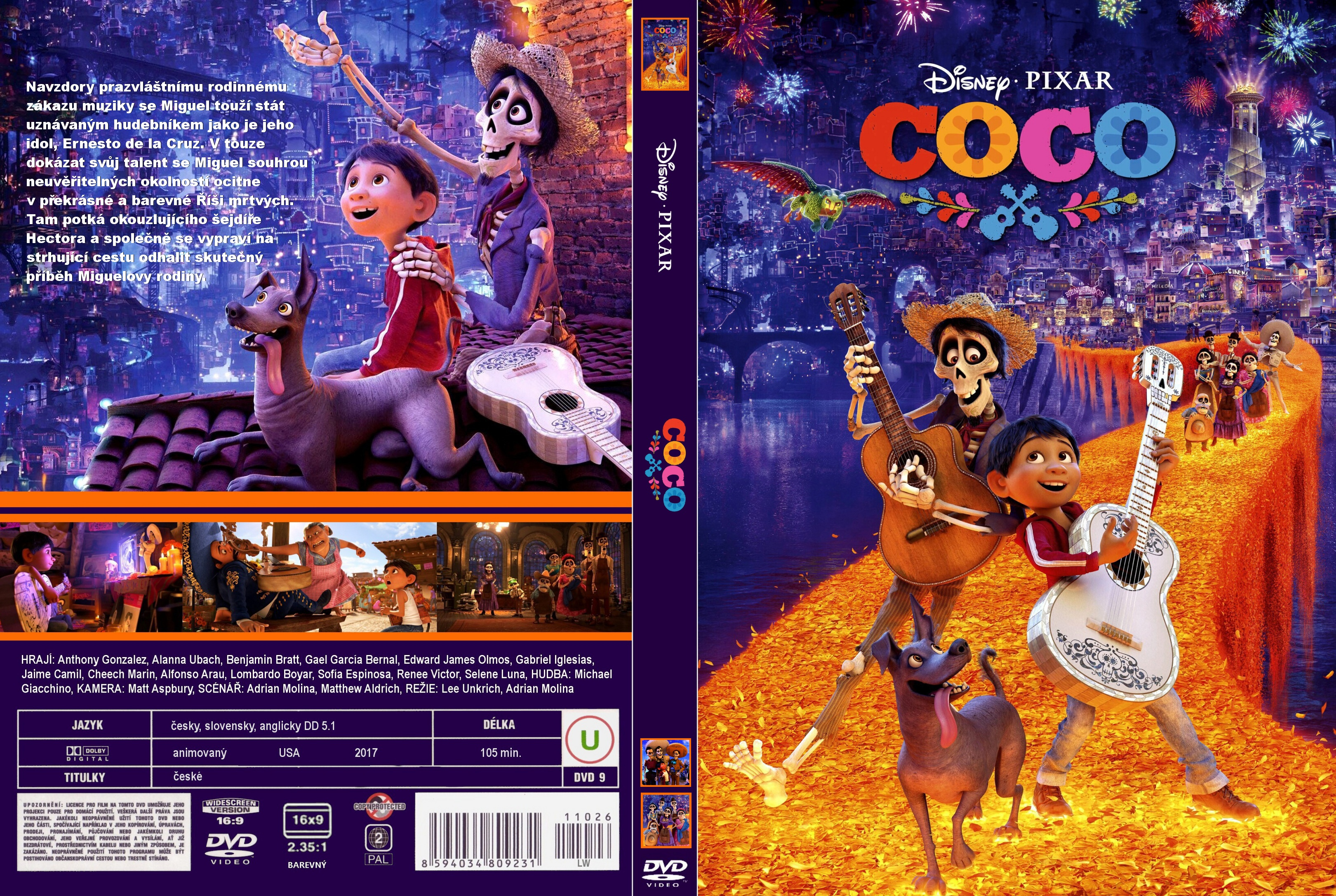 Covers Box Sk Coco 2017 High Quality Dvd Blueray Movie