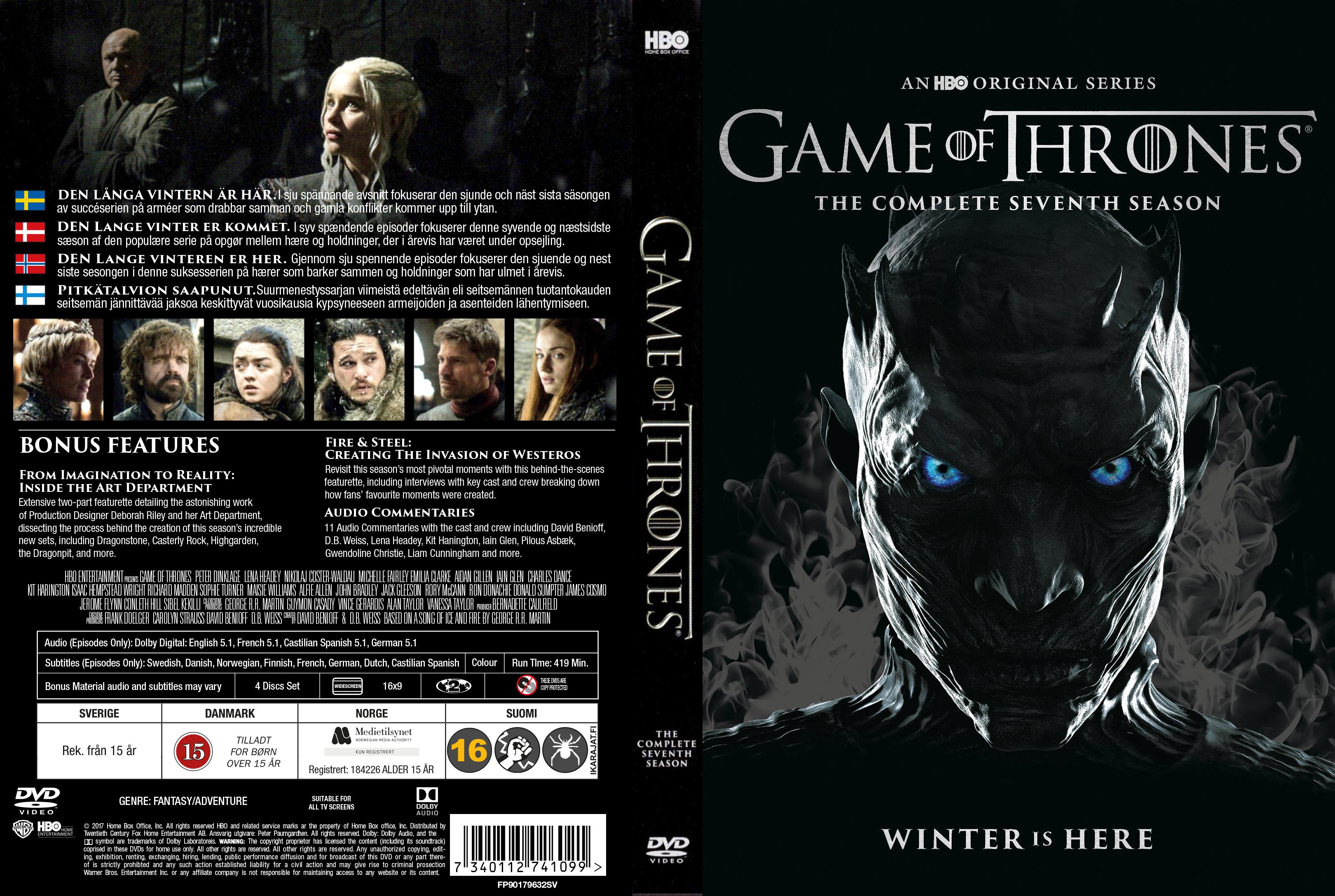 Game Of Thrones Season 7 Deutsch