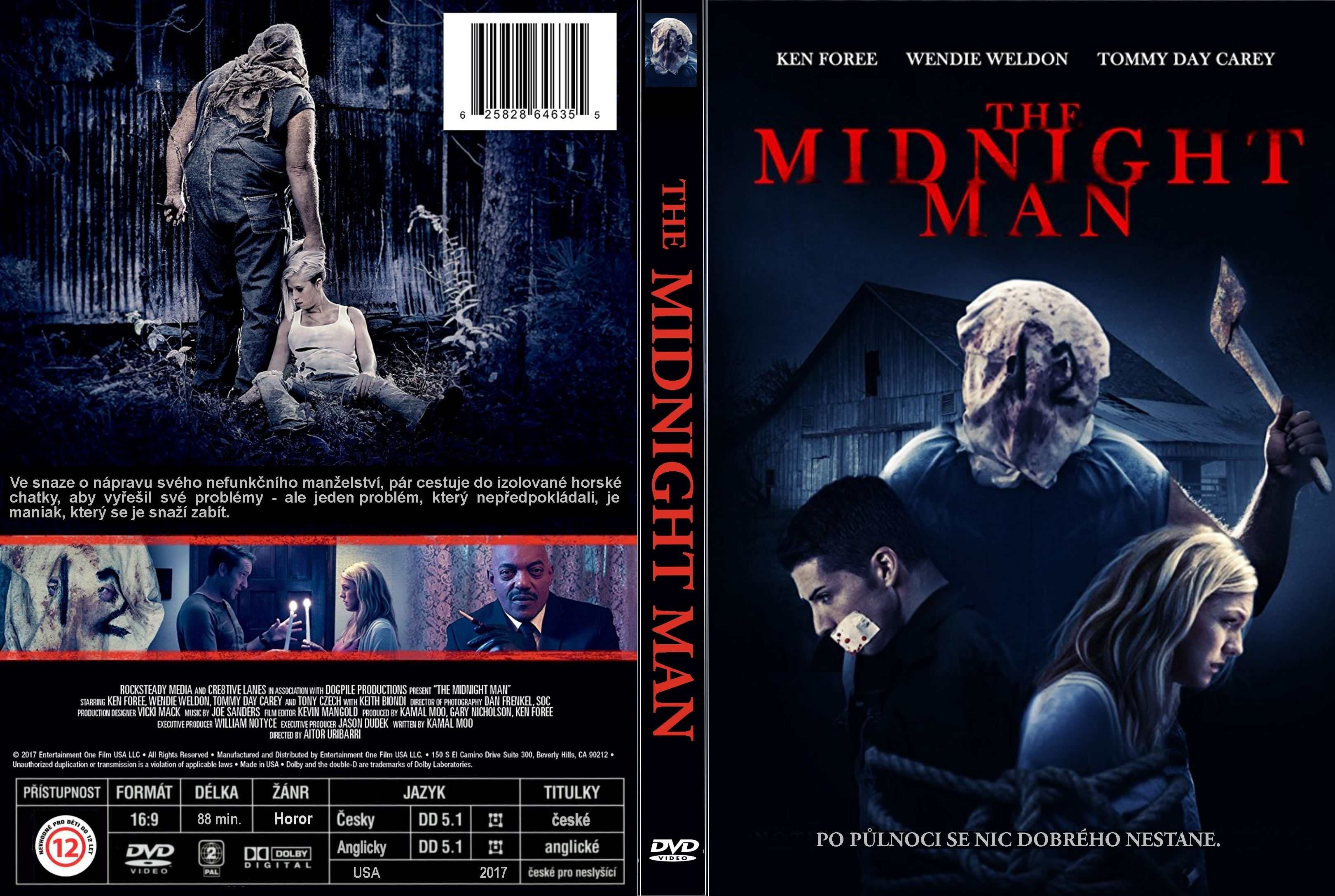 COVERS.BOX.SK ::: The Midnight Man (2017) - high quality DVD / Blueray /  Movie