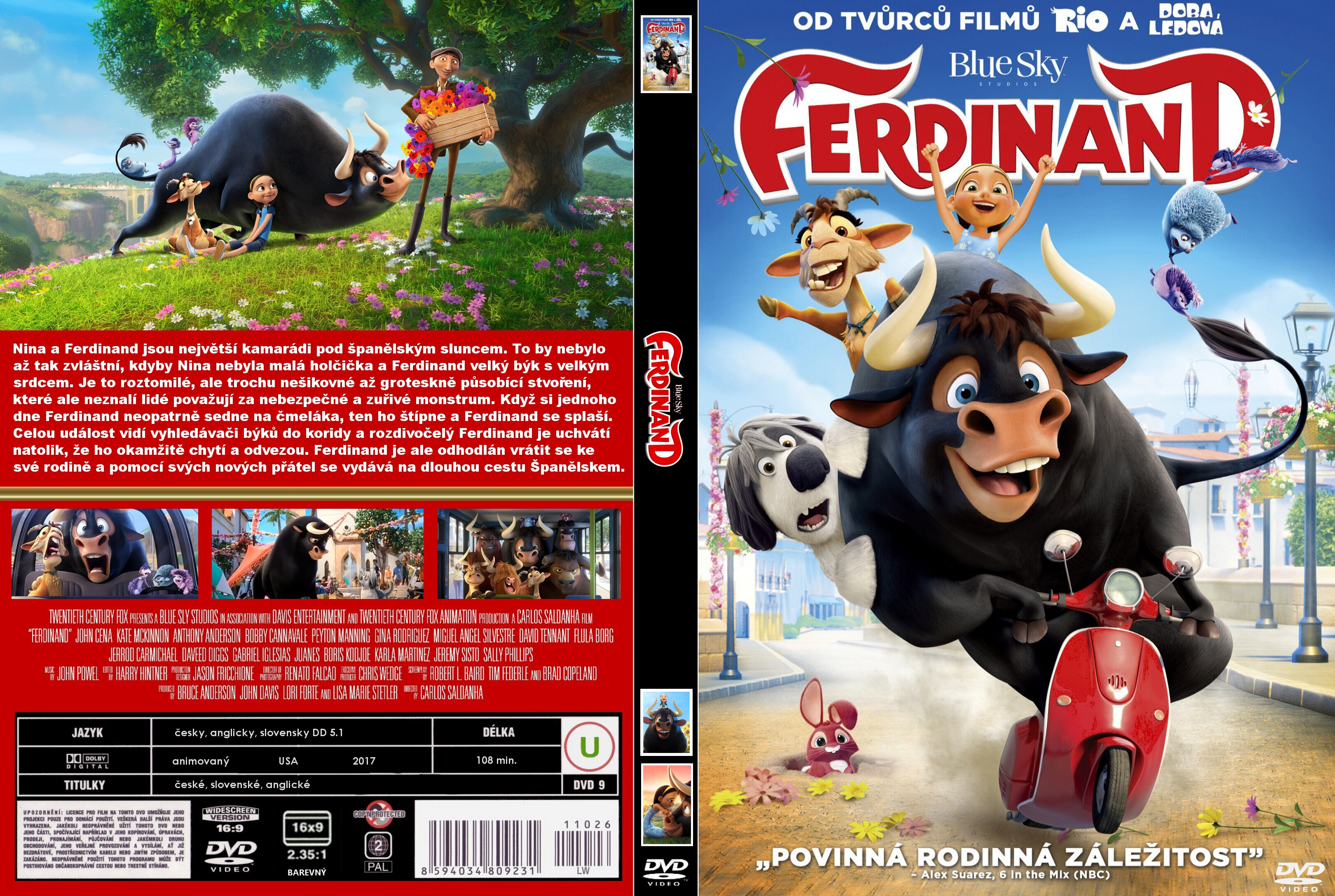 Covers Box Sk Ferdinand 2017 High Quality Dvd Blueray Movie