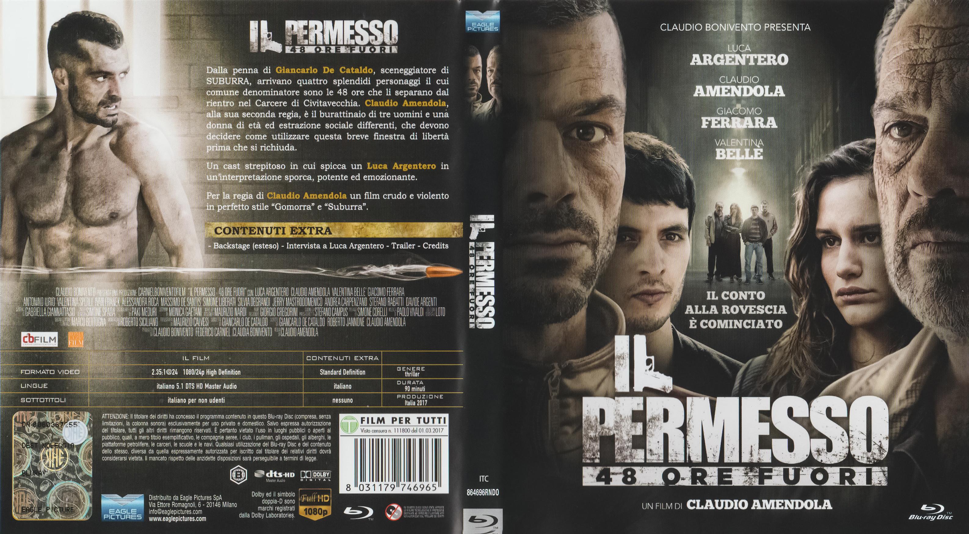 COVERS.BOX.SK ::: Il Permesso - 48 Ore Fuori (2017) - high quality ...