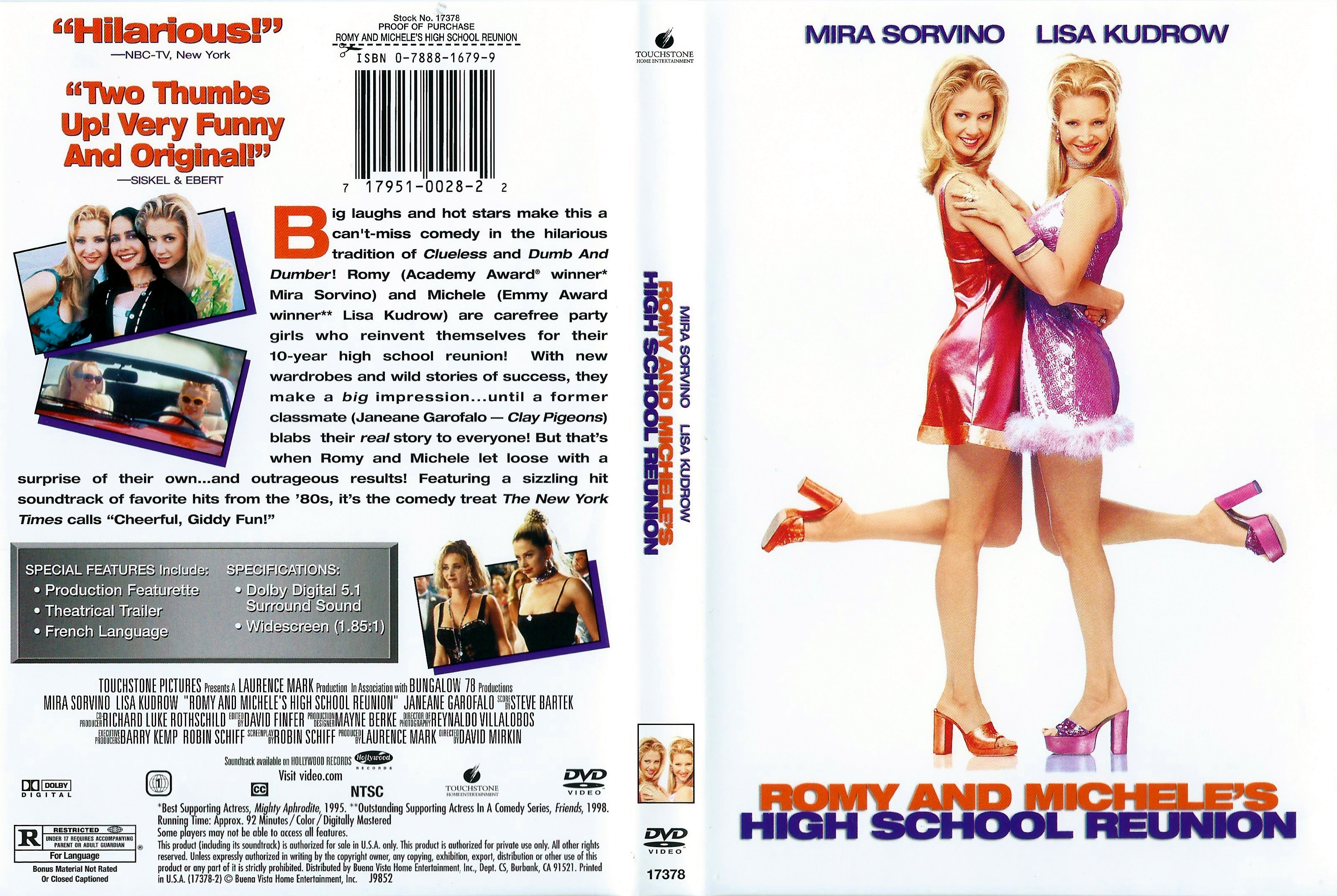 COVERS BOX SK ::: Romy And Michele's High School Reunion