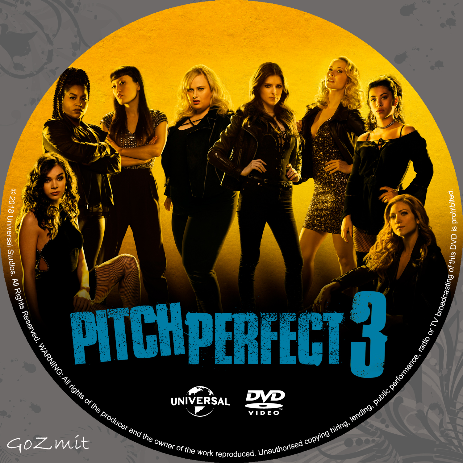 Coversboxsk Pitch Perfect 3 Nordic 2017 High