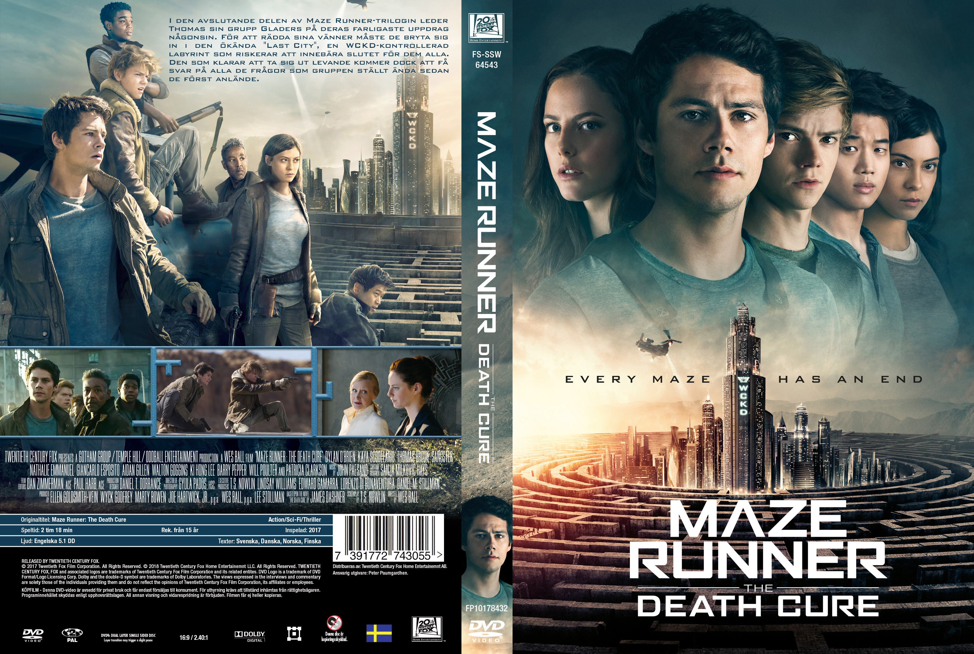 Covers Box Sk Maze Runner The Death Cure 2018 High Quality Dvd Blueray Movie
