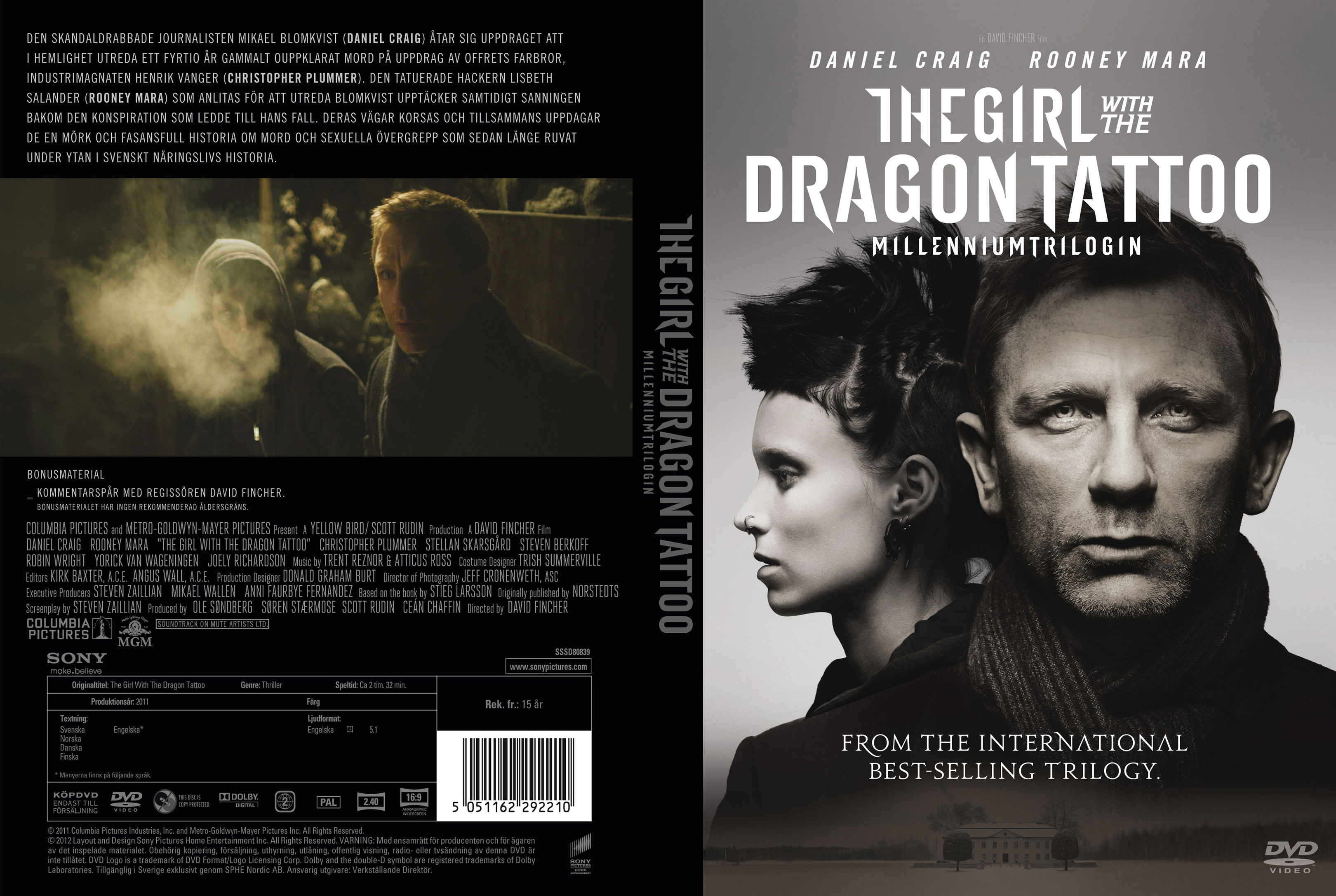the girl with the dragon tattoo 2011 torrent kickass