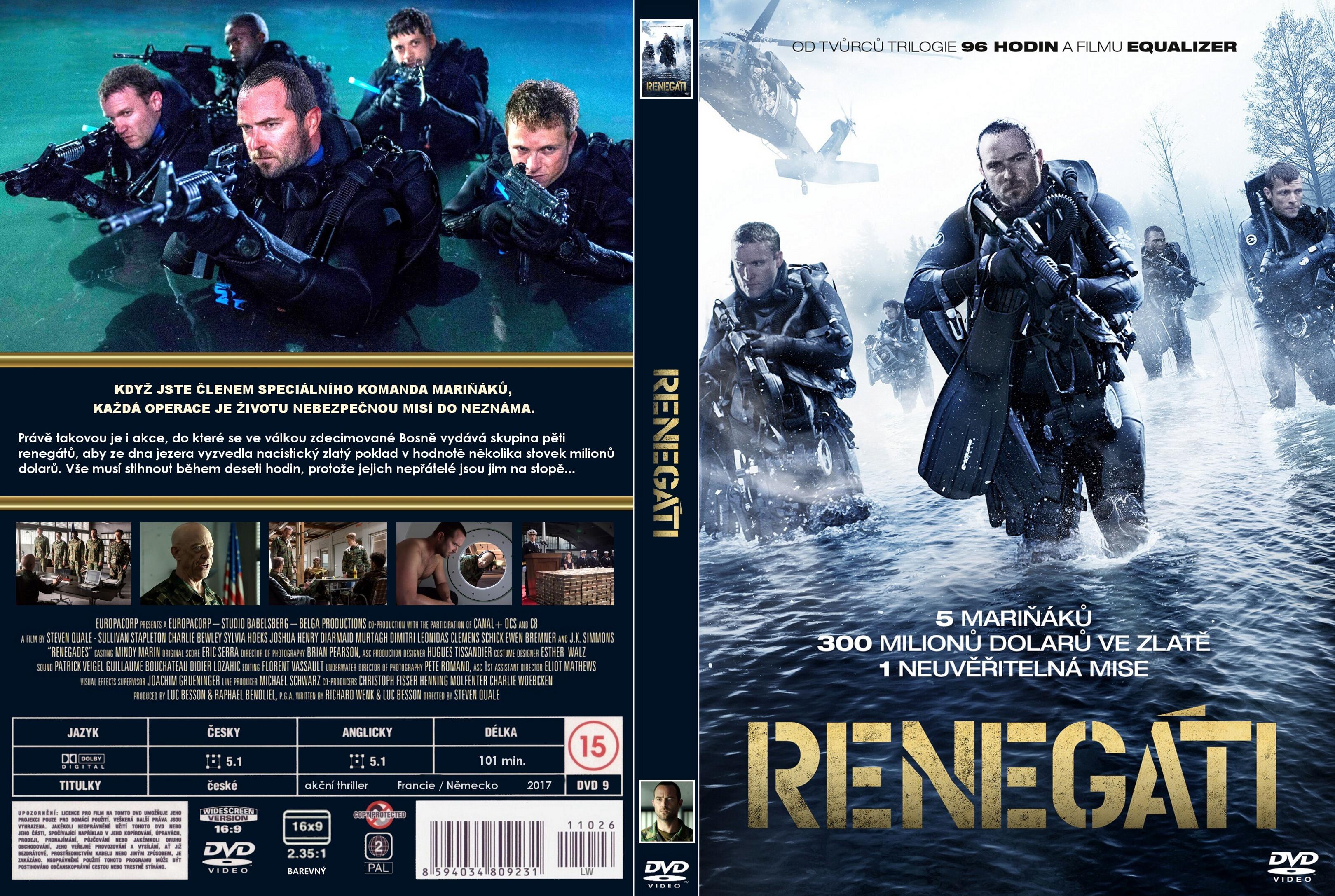 renegades 2017 movie dvd