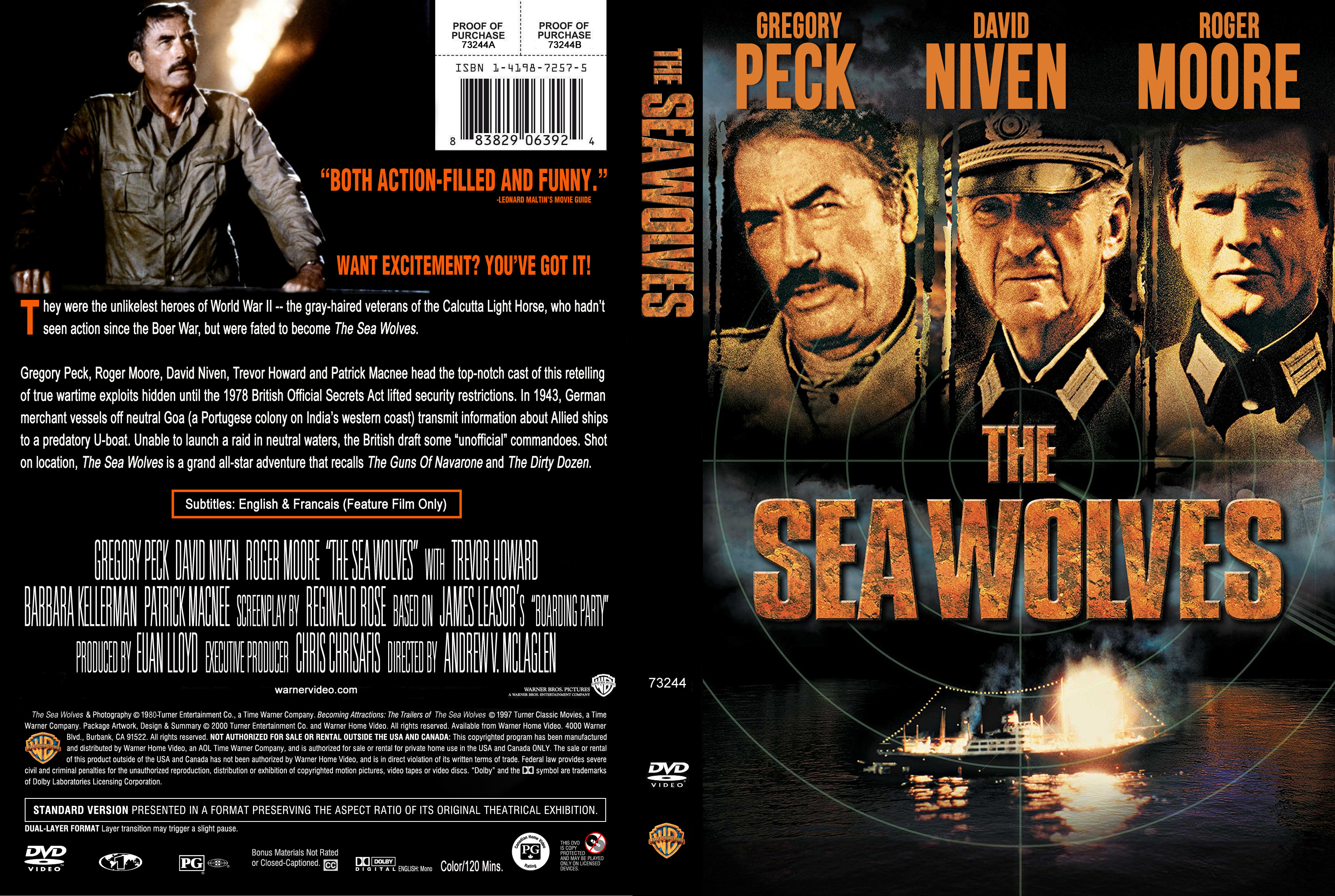War Movie : The Sea Wolves 1980 – (Full Film )