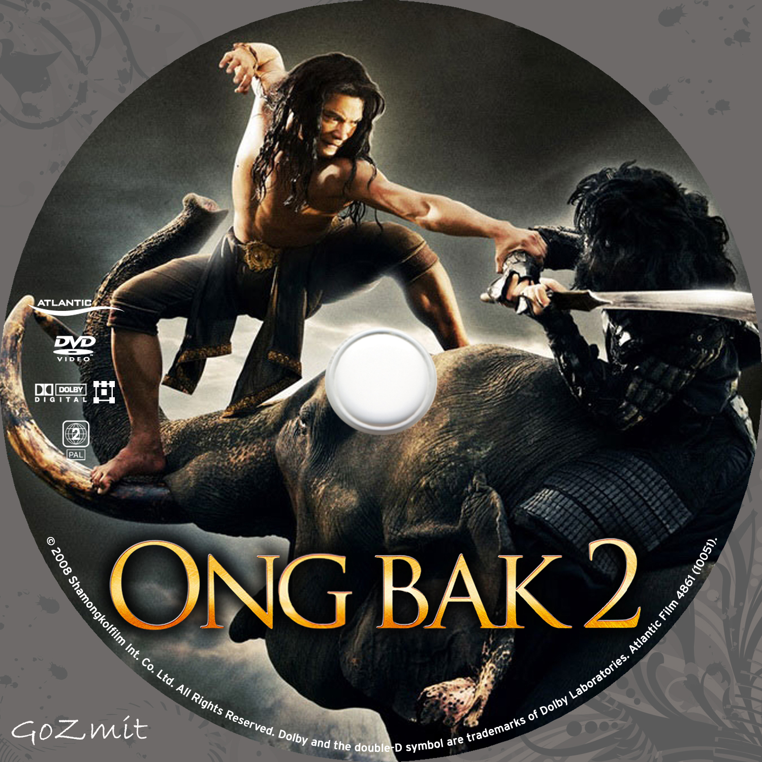 Covers Box Sk Ong Bak 2 2008 High Quality Dvd Blueray Movie