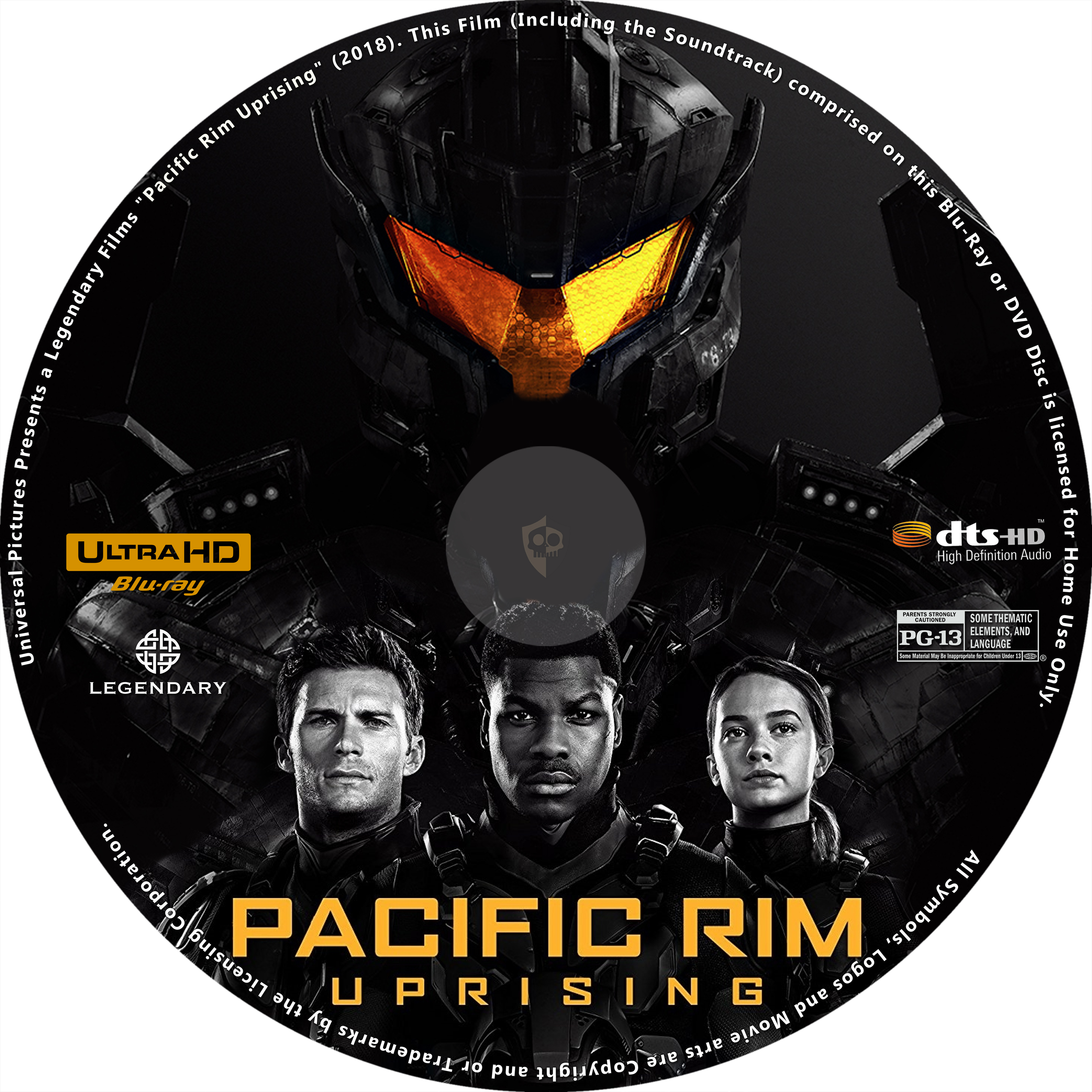 COVERS BOX SK ::: Pacific Rim: Uprising (2018) - high