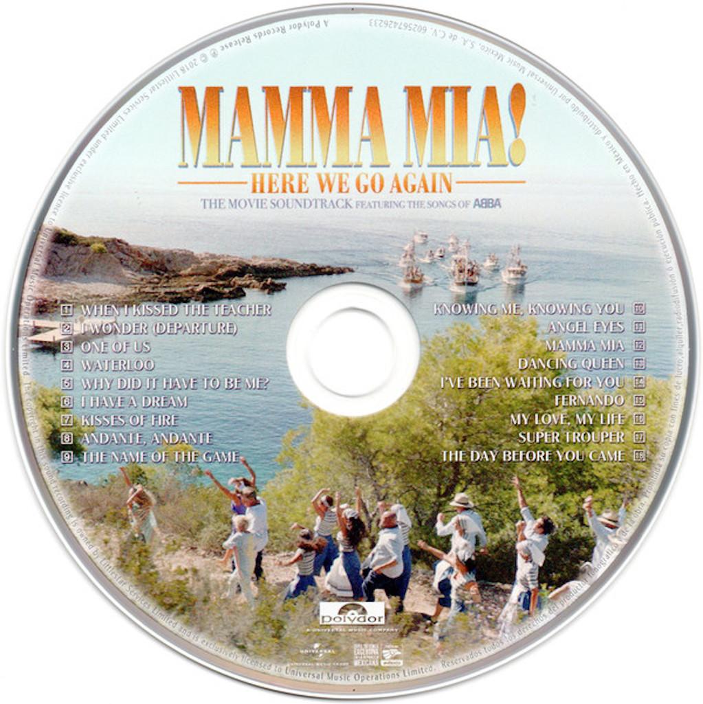 Coversboxsk Va Mamma Mia 2 Here We Go Again The Movie