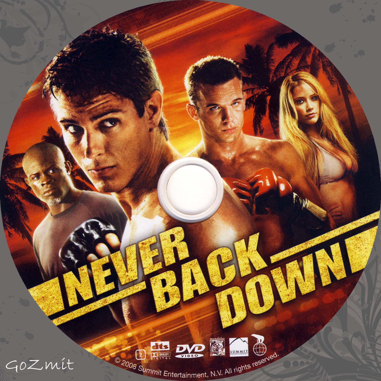 COVERS BOX SK ::: Never Back Down (2008) - high quality DVD