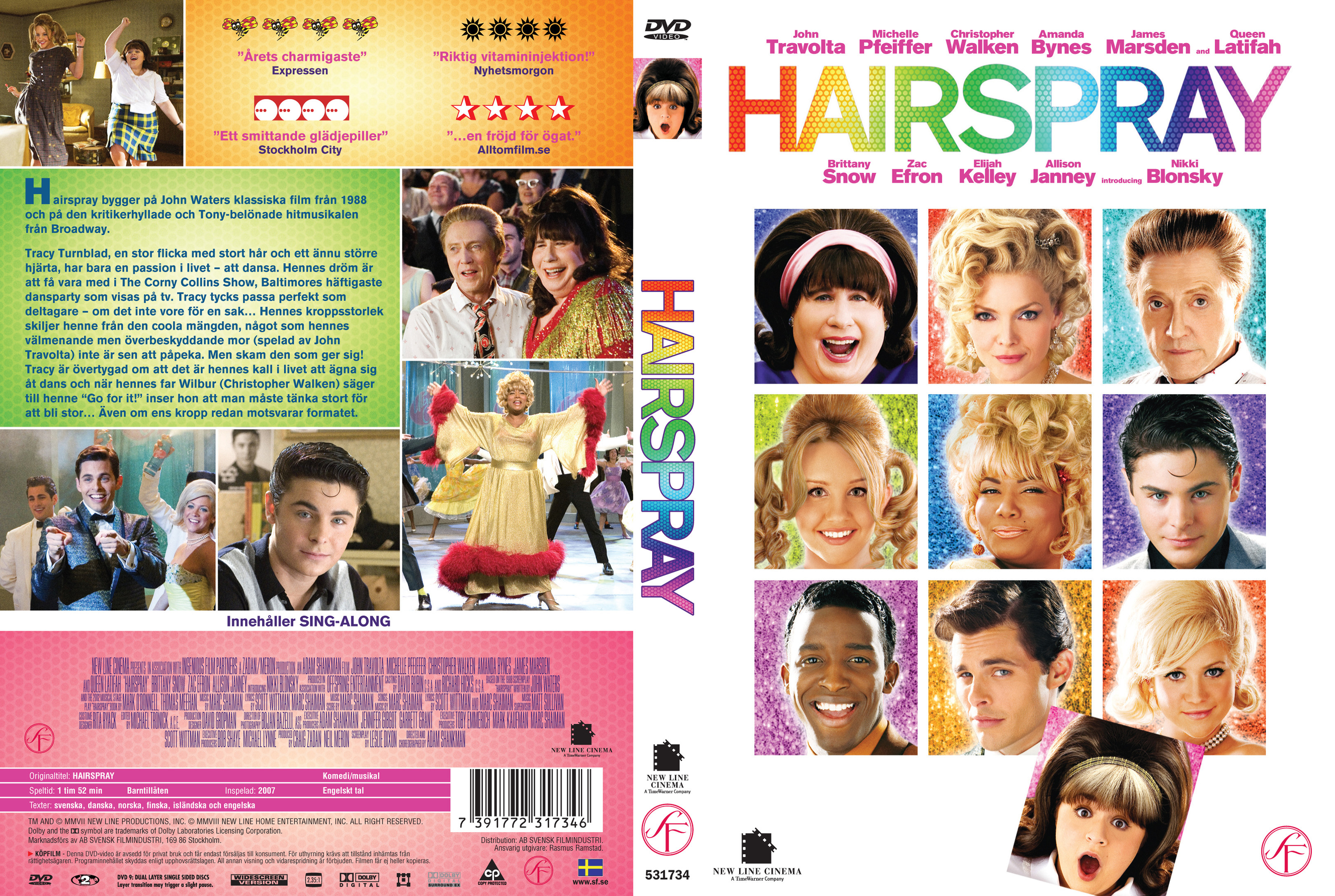 Covers Box Sk Hairspray 2007 High Quality Dvd