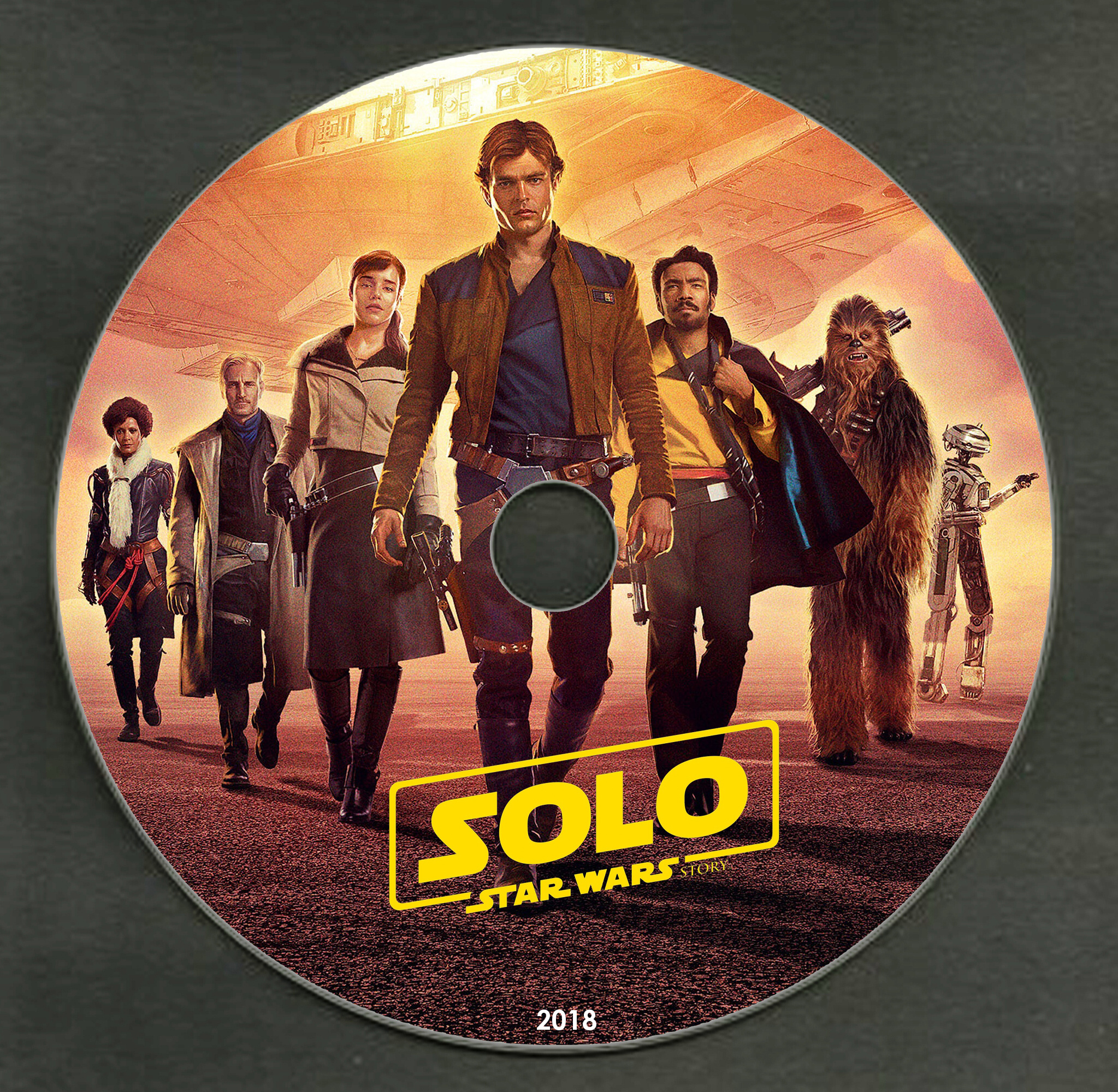 Covers Box Sk Solo A Star Wars Story 2018 High Quality Dvd Blueray Movie