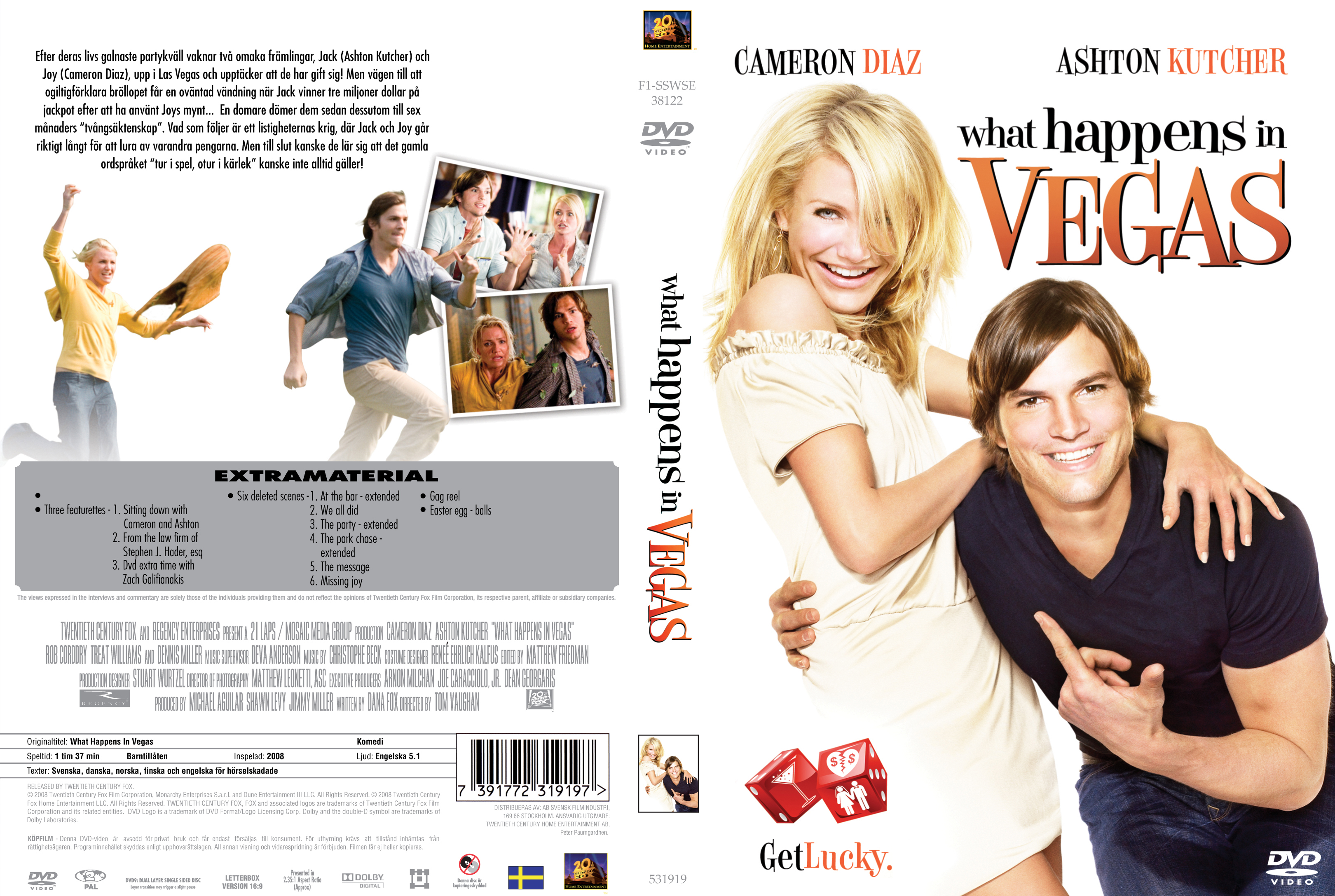 Covers Box Sk What Happens In Vegas 2008 High Quality Dvd Blueray Movie
