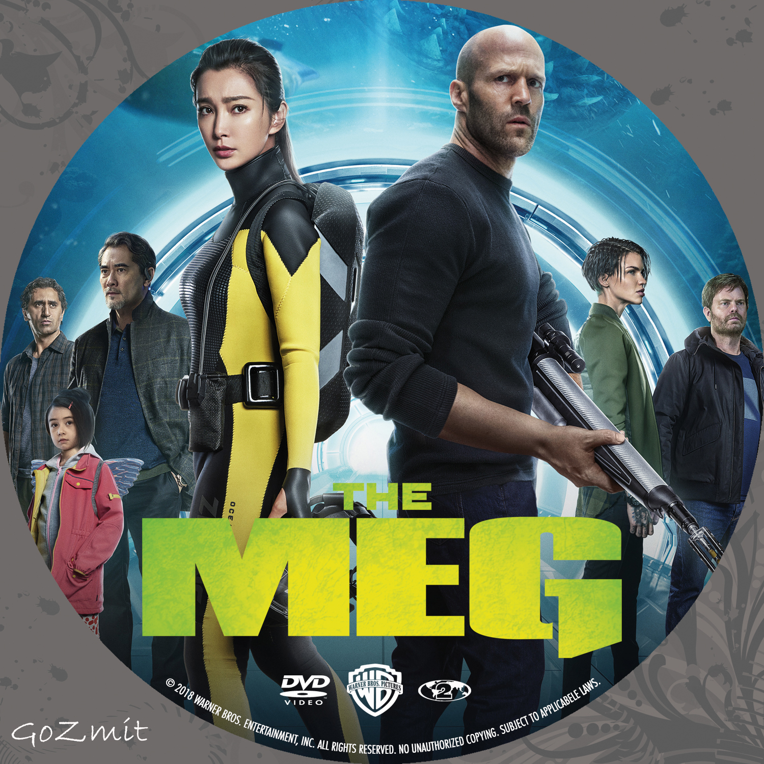 Coversboxsk The Meg 2018 High Quality Dvd Blueray Movie