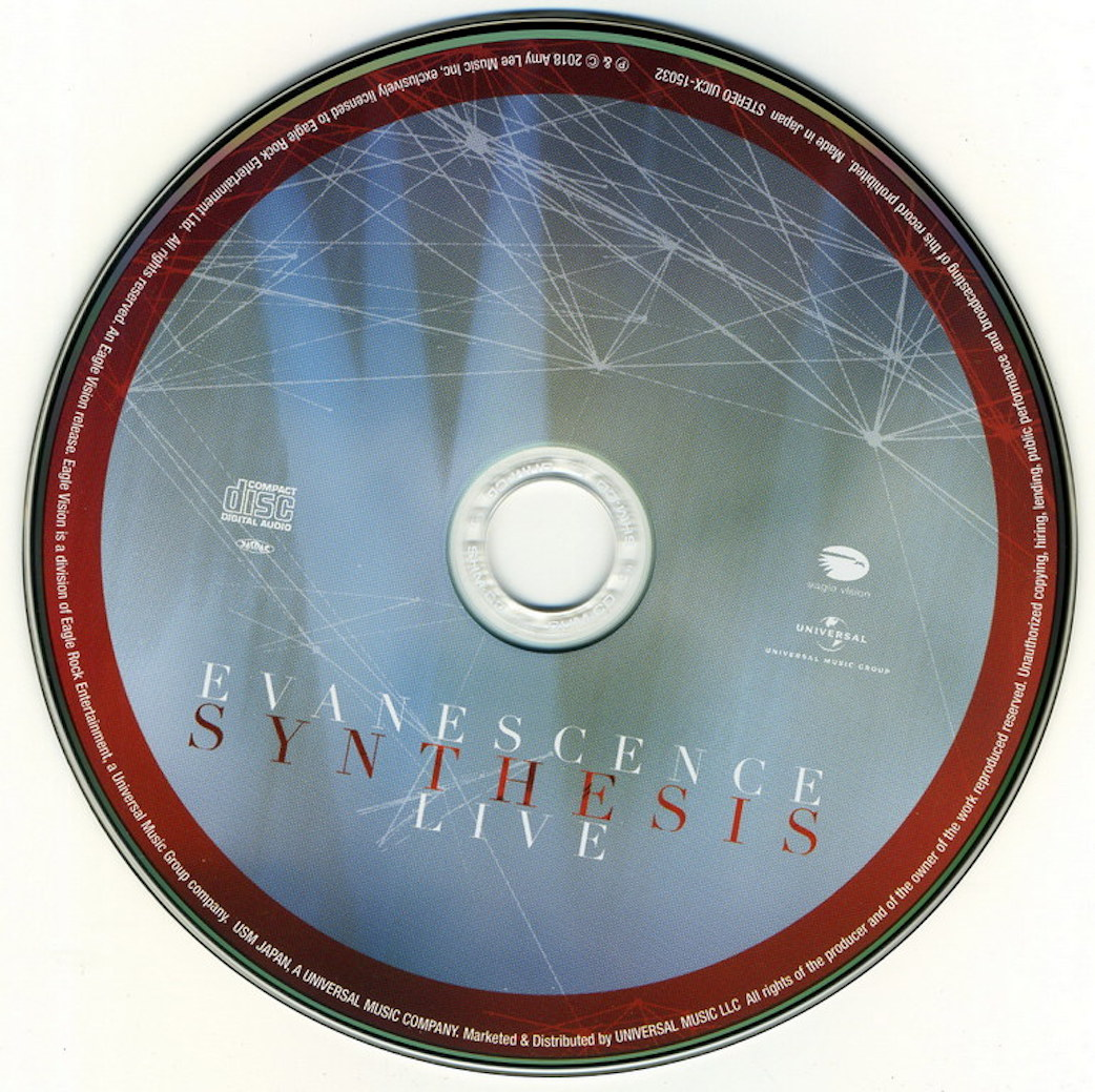 evanescence synthesis live dvd release date