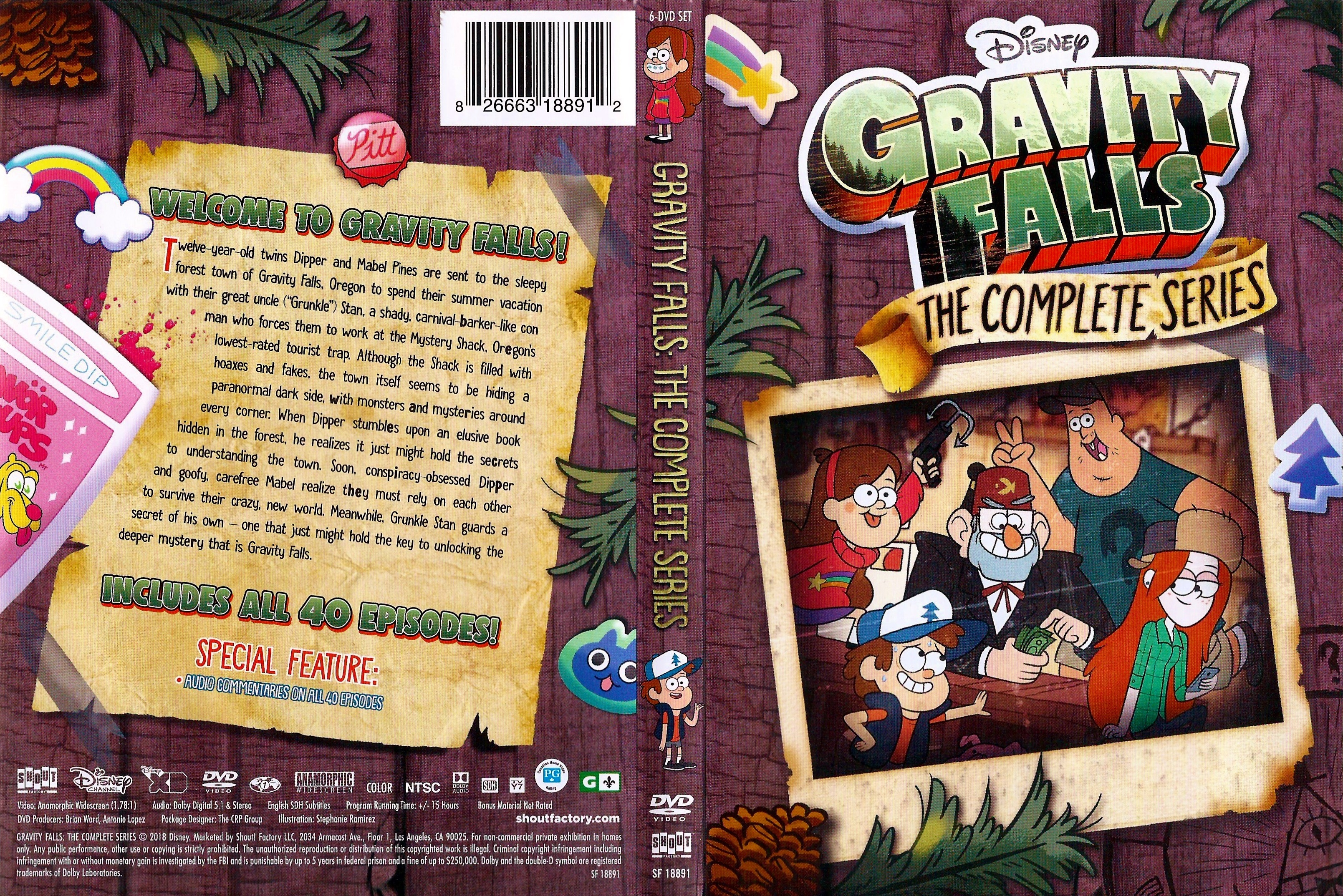 gravity falls complete series download