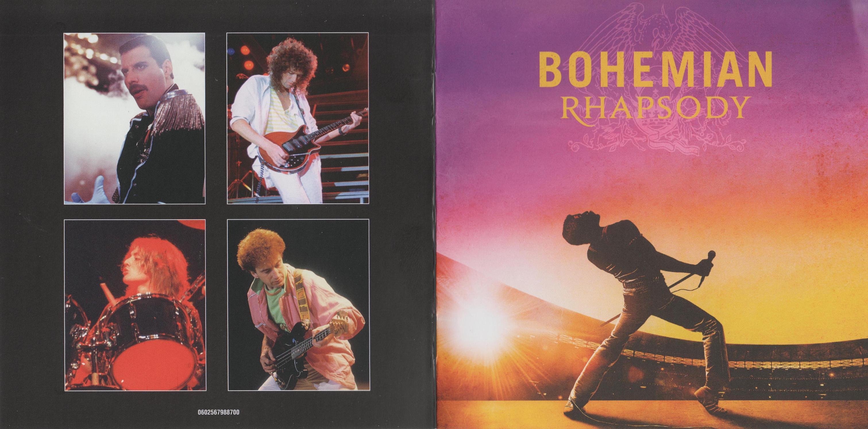 Bohemian Rhapsody 2018 Dvd Label