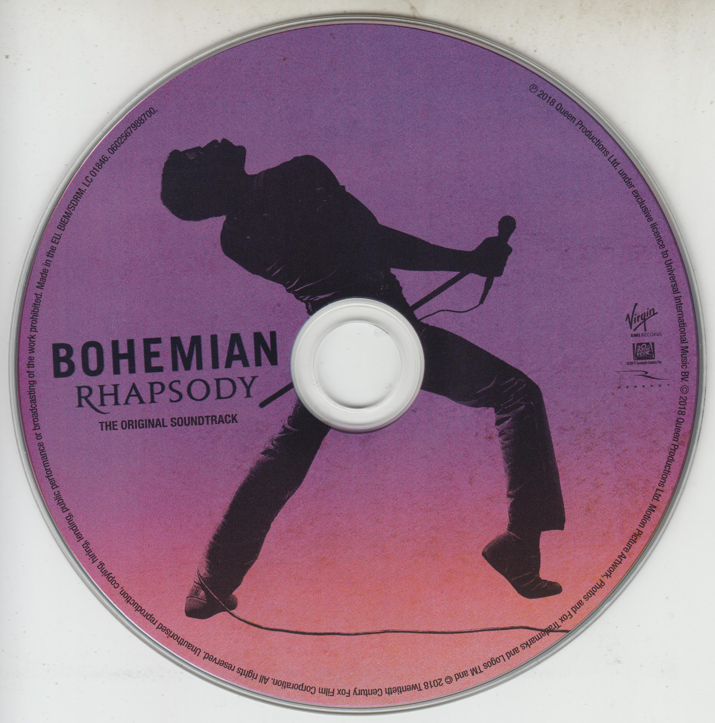 Coversboxsk Queen Bohemian Rhapsody The Original Soundtrack