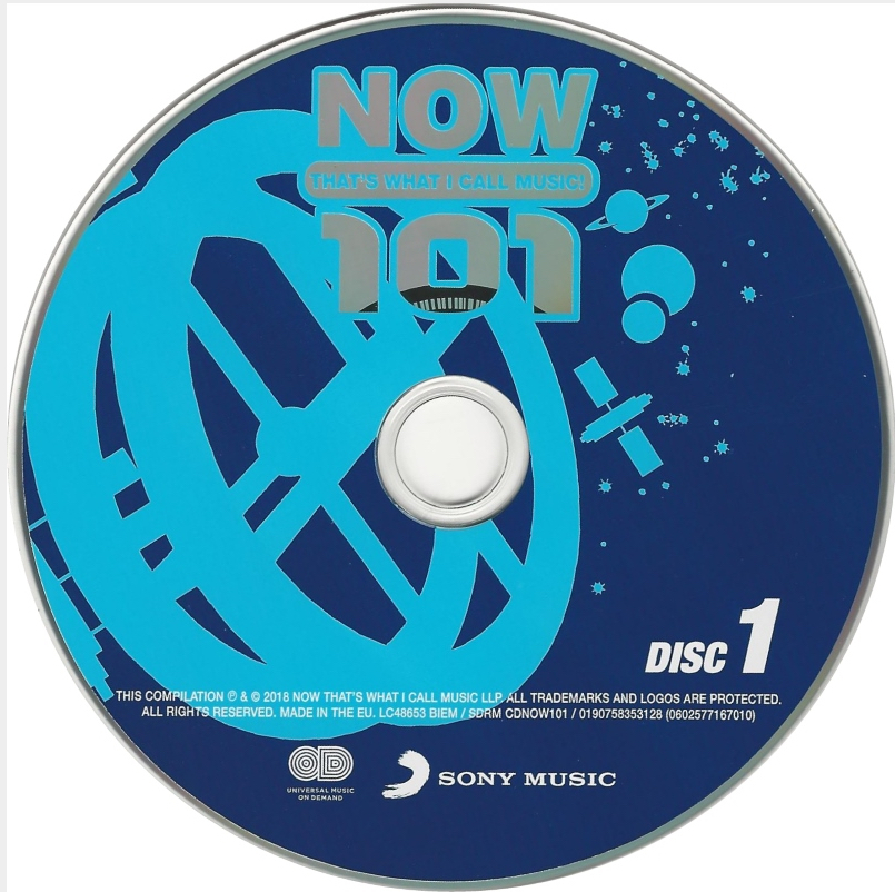 Covers Box Sk V A Now That S What I Call Music 101 2018 High Quality Dvd Blueray Movie