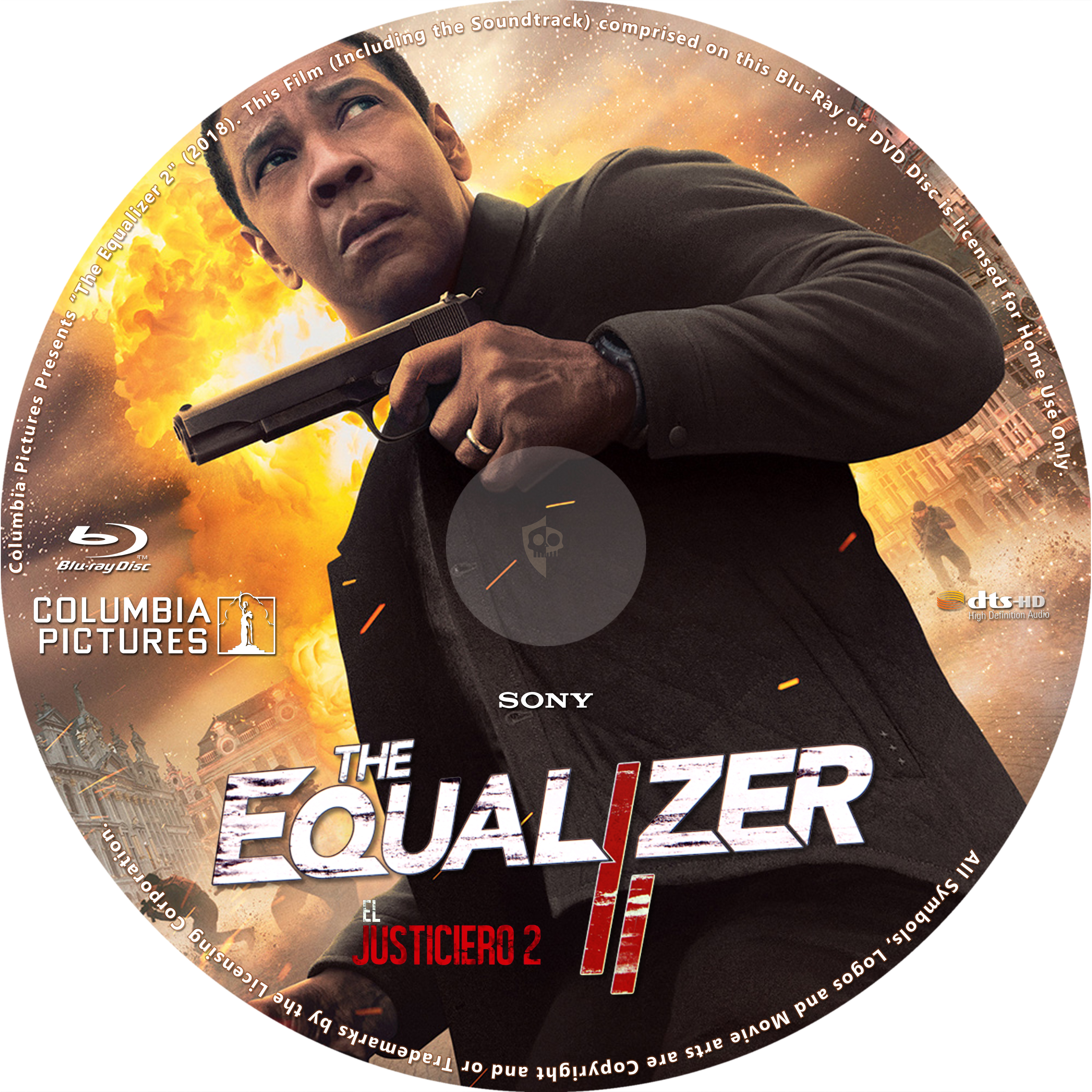 Covers Box Sk The Equalizer 2 2018 High Quality Dvd Blueray Movie