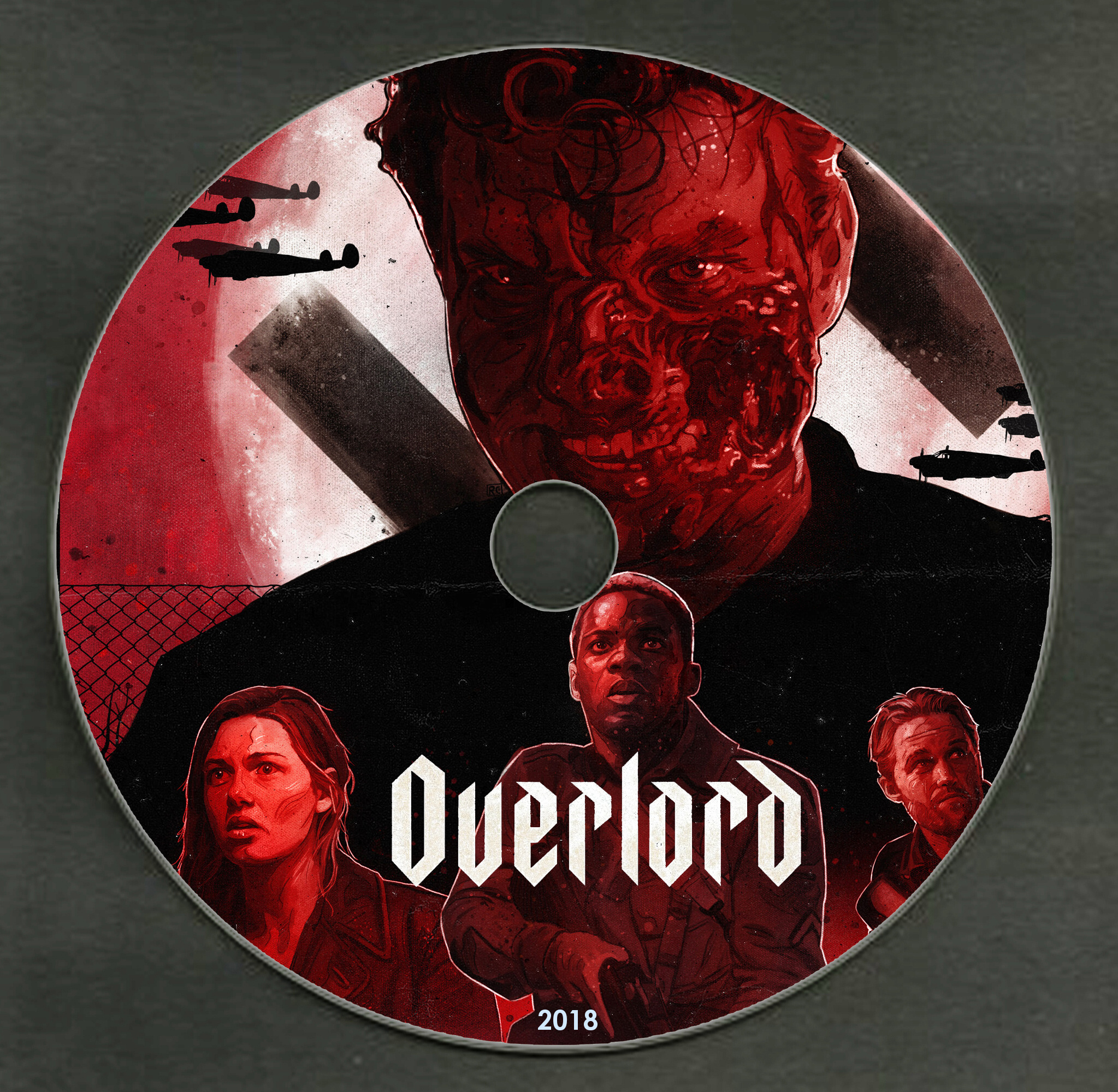 COVERS BOX SK ::: Overlord (2018) - high quality DVD / Blueray / Movie