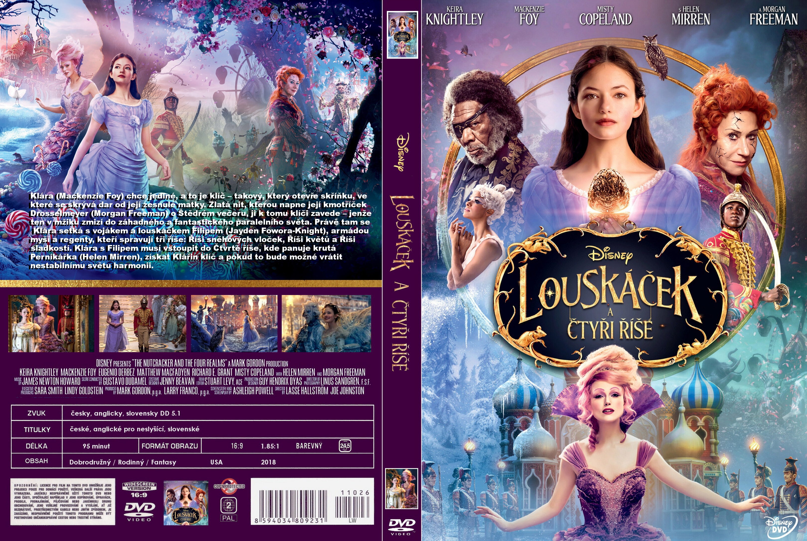 Covers Box Sk The Nutcracker And The Four Realms 2018 High Quality Dvd Blueray Movie