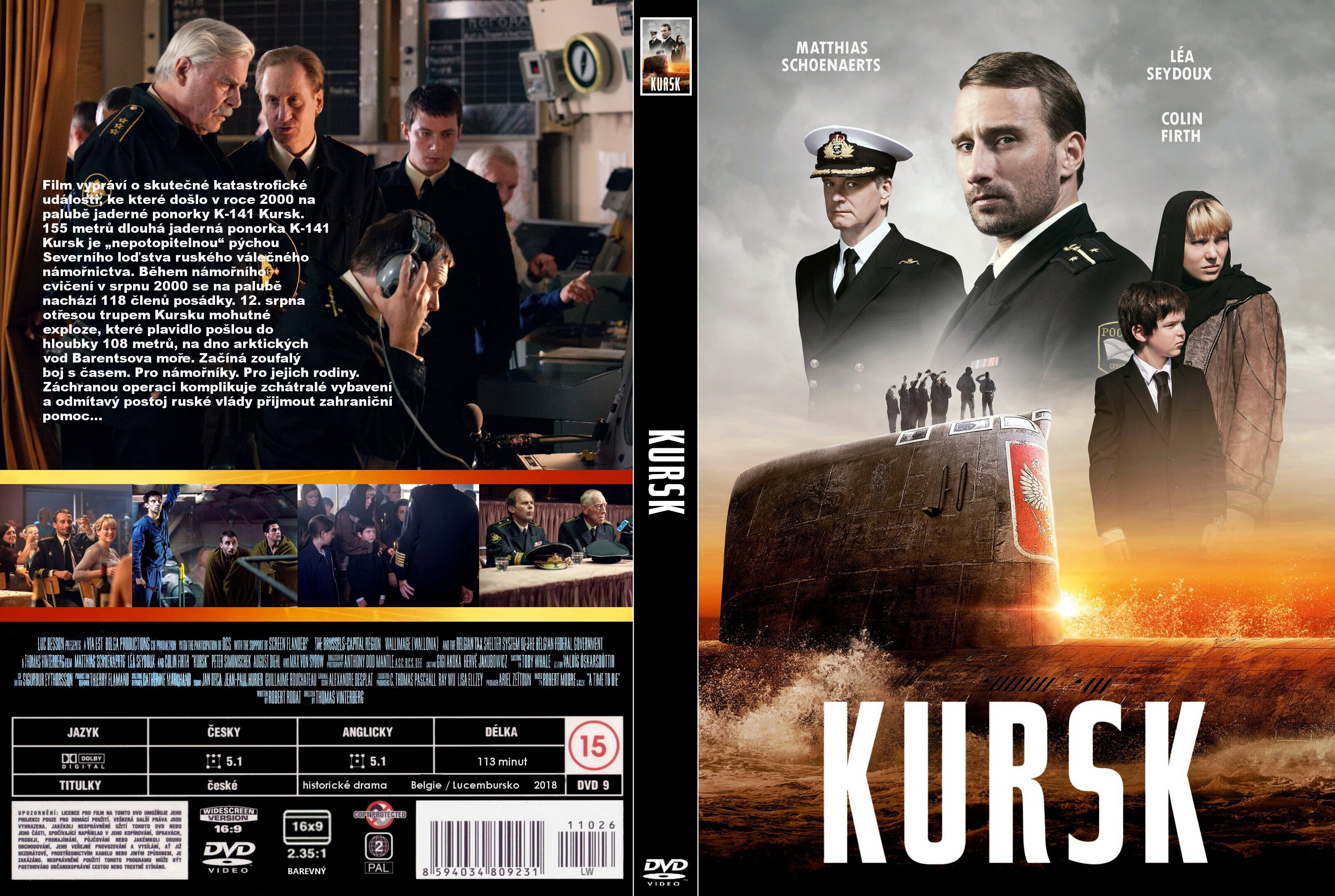 COVERS BOX SK ::: Kursk (2018) - high quality DVD / Blueray