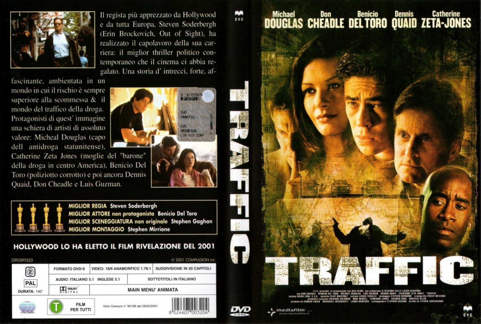 Covers Box Sk Traffic 2000 High Quality Dvd Blueray Movie