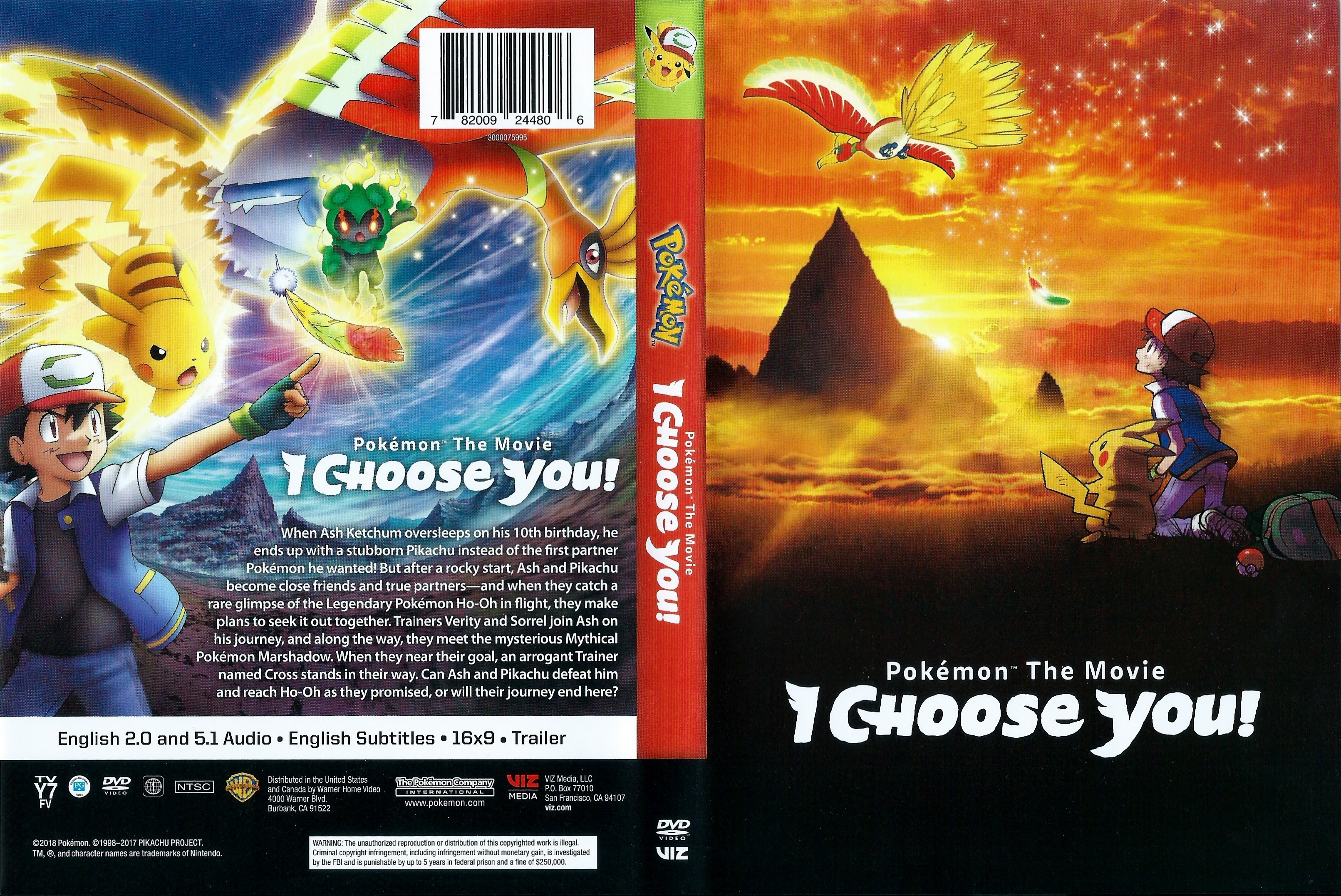 Covers Box Sk Pokemon The Movie I Choose You 2017 High
